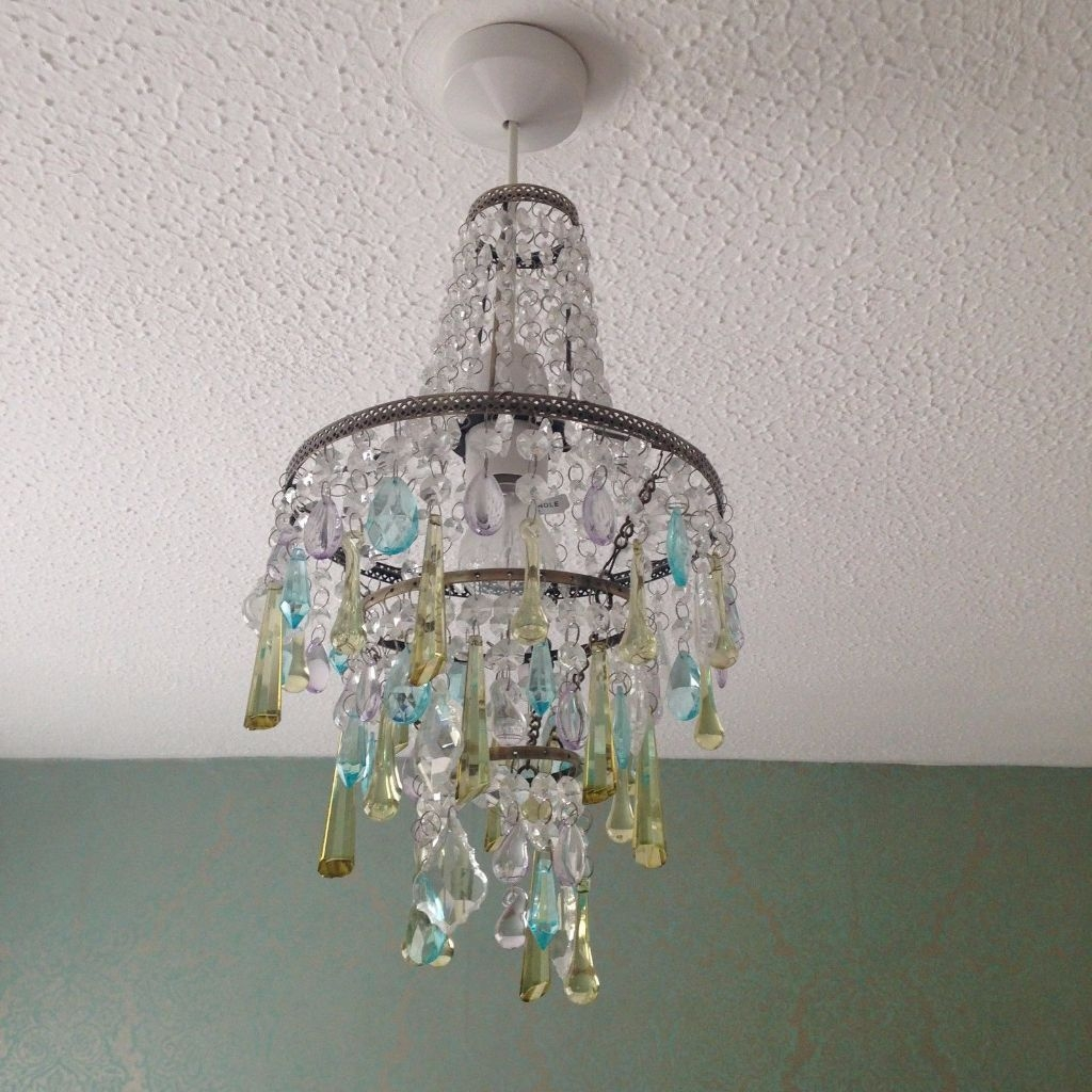 Gorgeous John Lewis Glass Droplet Chandelier Lampshade In With Regard To Glass Droplet Chandelier (Image 10 of 15)