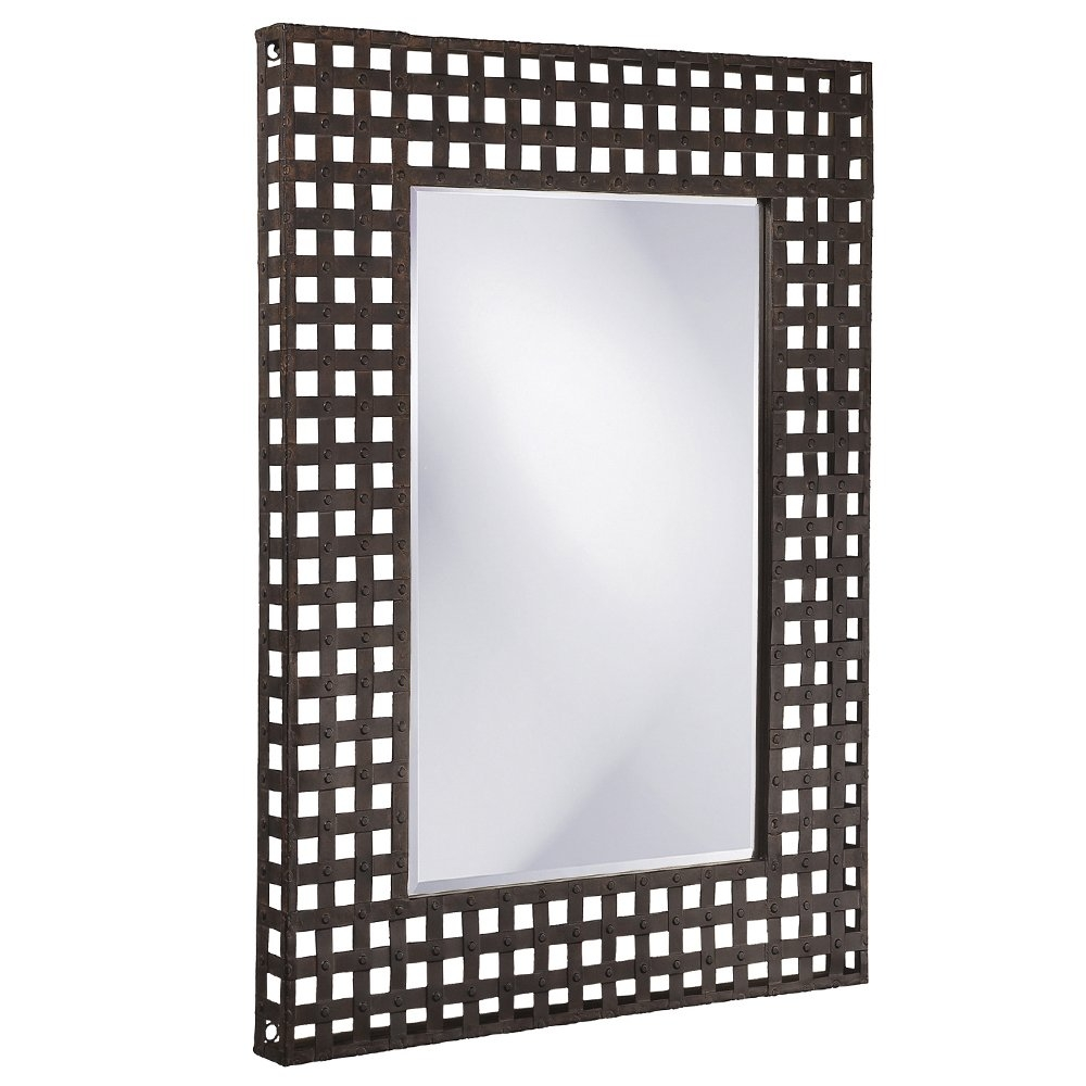Gracie Oaks Rectangular Antique Black Mirror Reviews Wayfair Throughout Antique Black Mirror (Image 9 of 15)