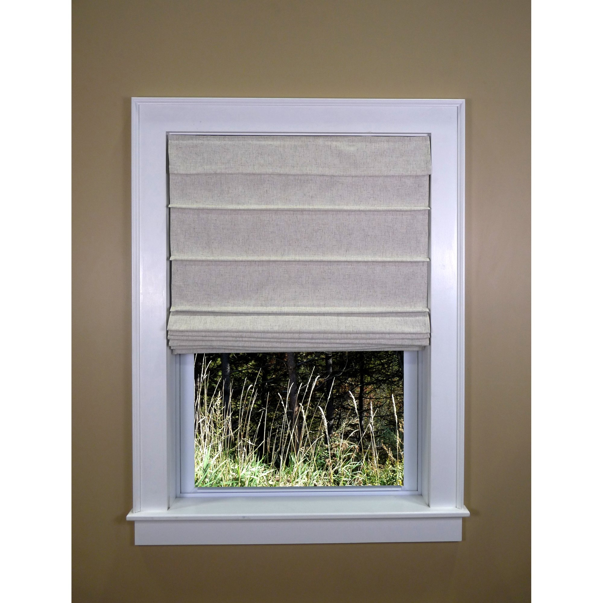 Green Mountain Vista Colt Thermal Backed Roman Shade Reviews Pertaining To Thermal Lined Roman Shades (Image 7 of 15)