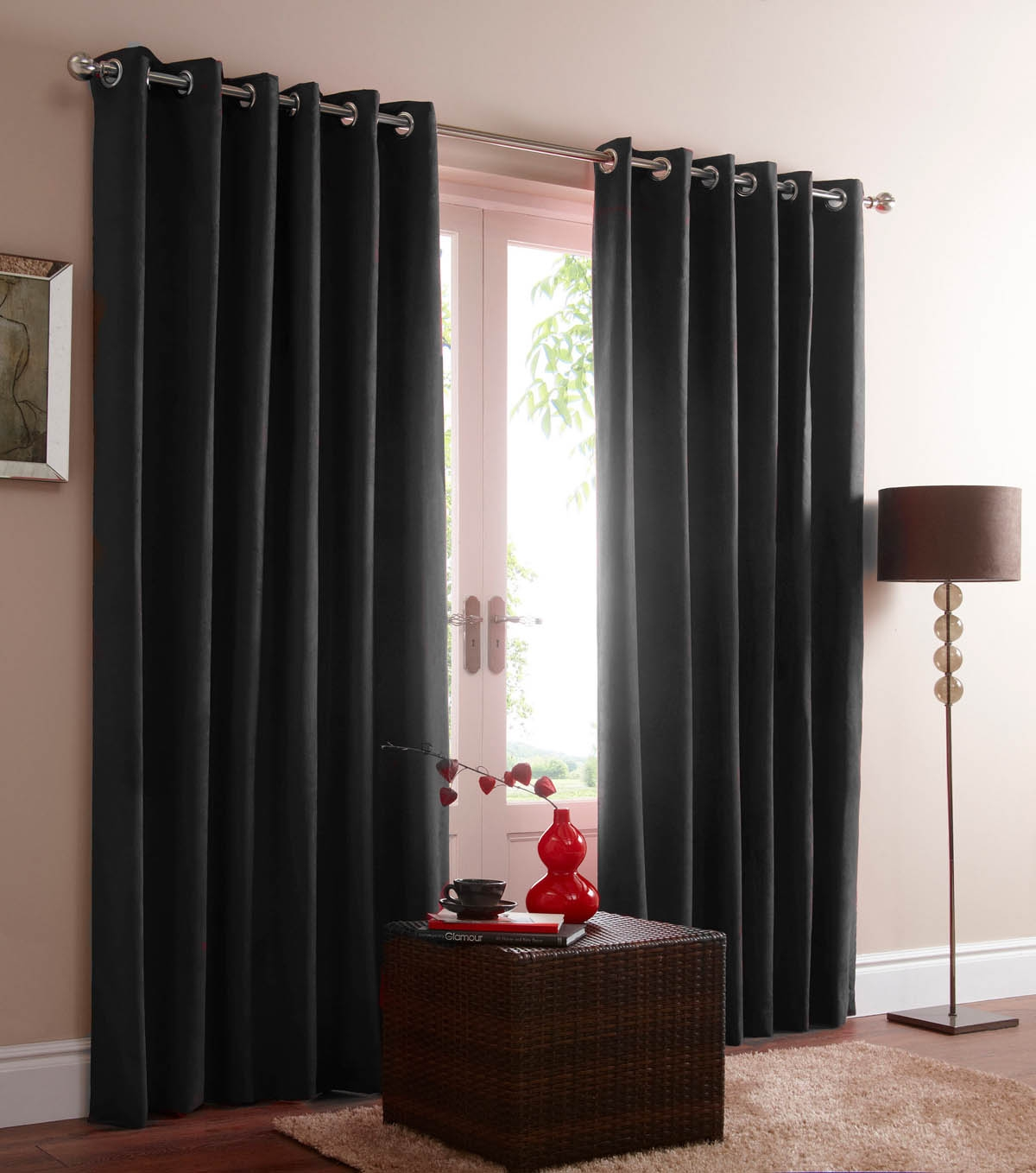 Grey Blackout Curtains Functions And Settings Design Ideas And Decor With Plain White Blackout Curtains (Image 12 of 15)