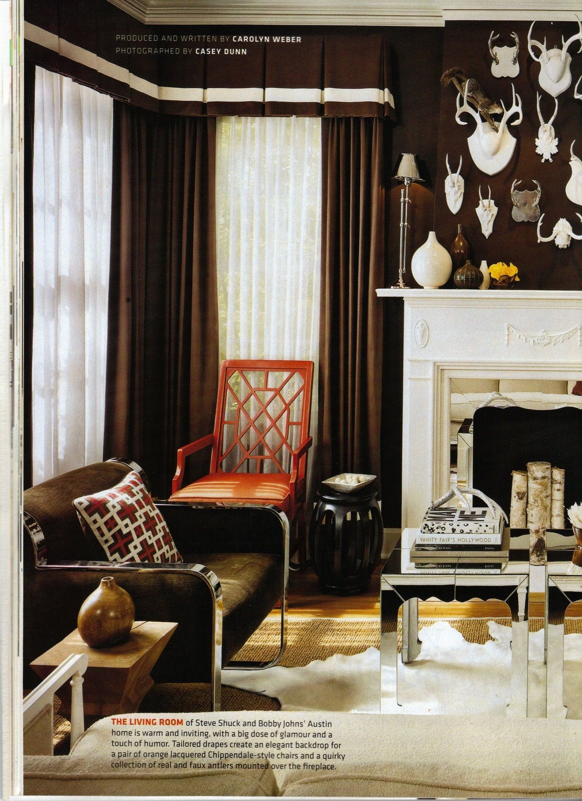 Grey Decorating Gretha Scholtz Inside Dark Brown Velvet Curtains (Image 7 of 15)