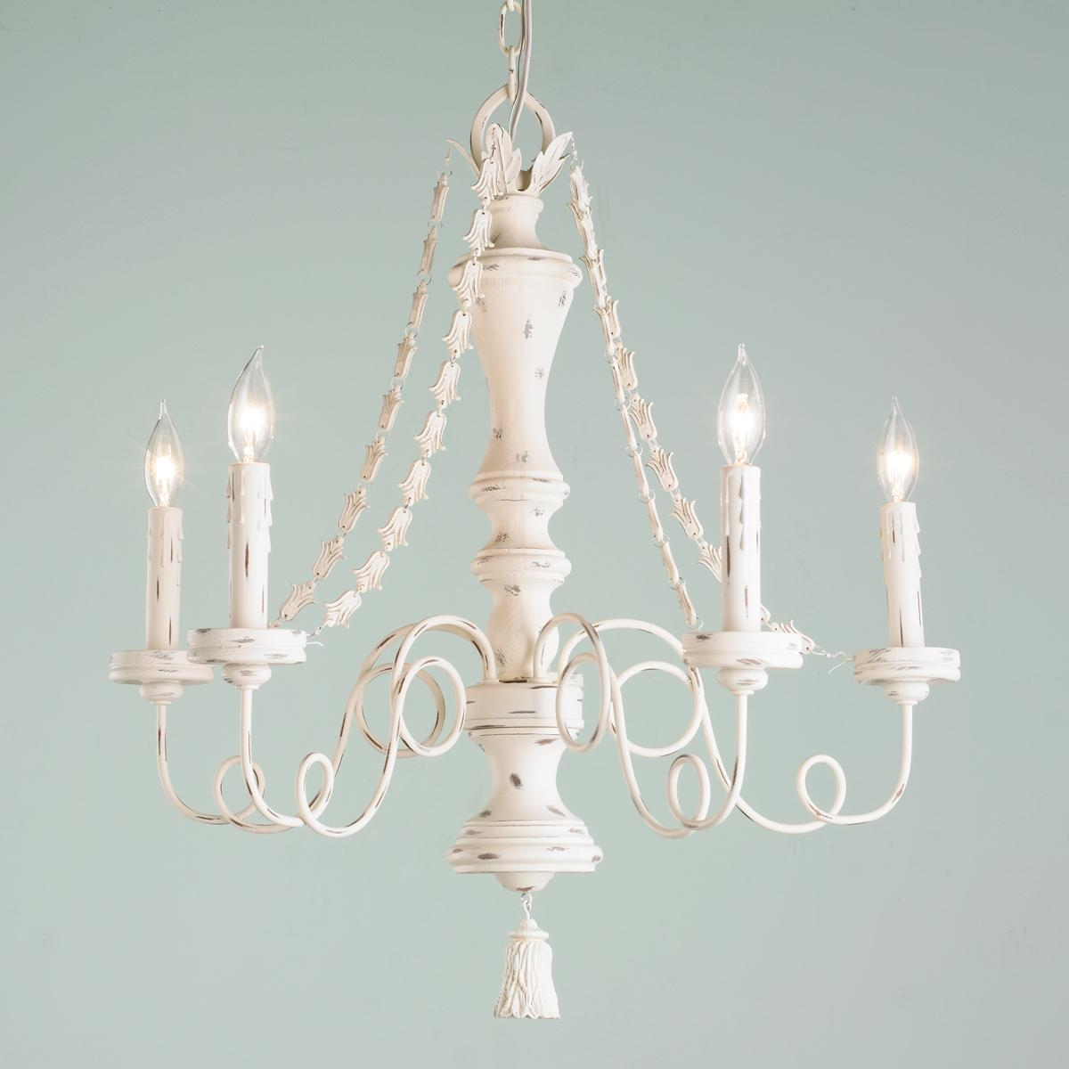 Gustavian Style White Chandelier Veranda Magazine Style And In Cream Chandeliers (Image 11 of 15)
