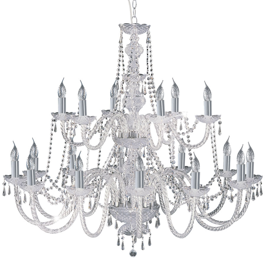 Hale Georgian Style 8 Light Crystal Chandelier 218 8 For Georgian Chandelier (Image 10 of 15)