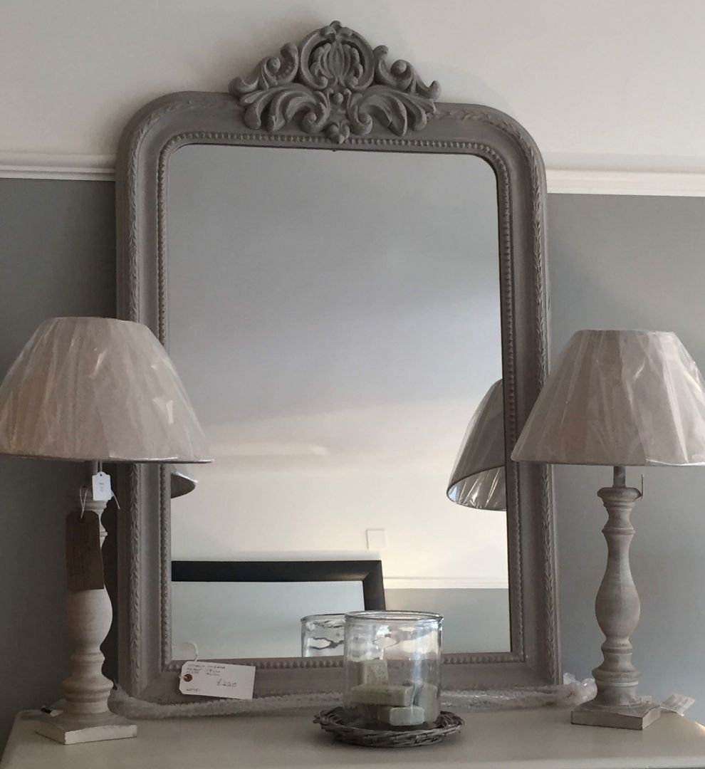 Hand Painted Furniture Mirrors For Sale French Style Mirror Regarding French Style Mirrors (Image 9 of 15)