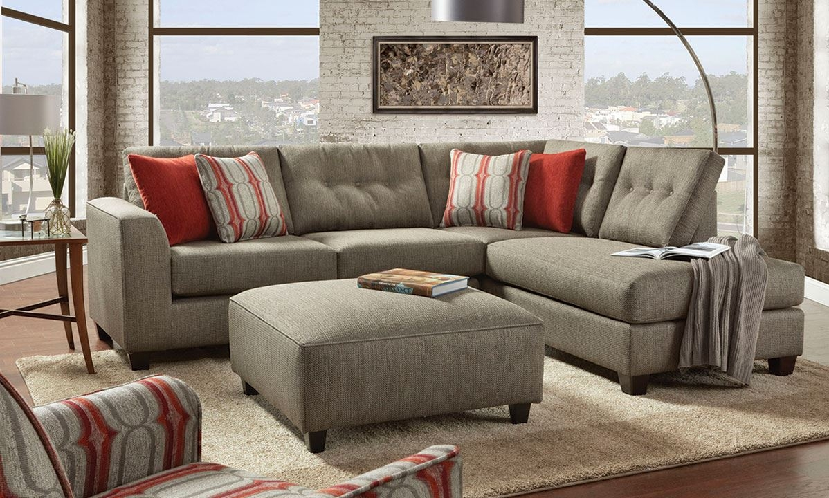 Handmade American Chaise Sectional Sofa With Ottom The Dump Intended For Closeout Sectional Sofas (Image 6 of 15)