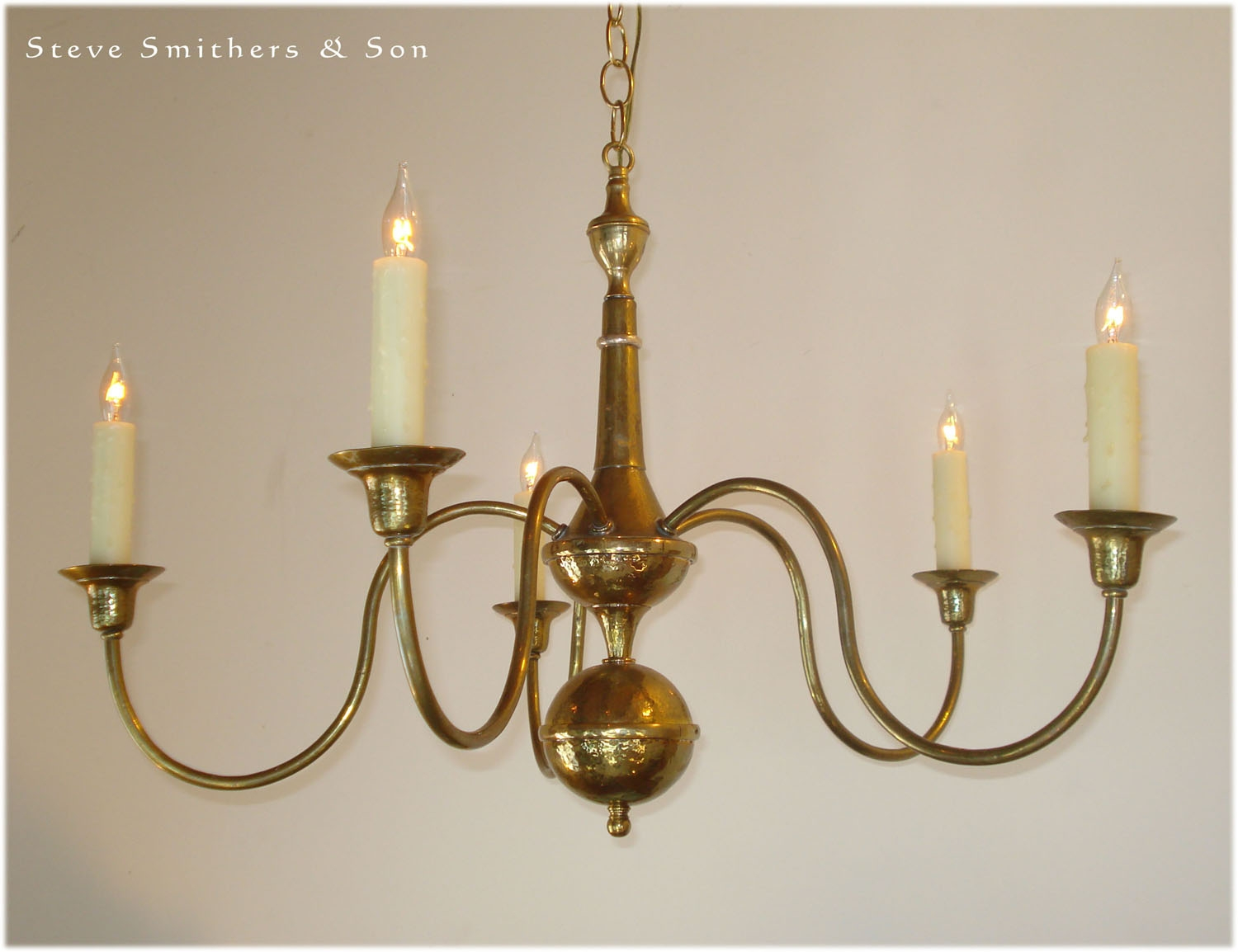 Handmade Brass Sconces Chandeliers Lamps Lanterns Regarding Brass Chandeliers (Image 8 of 15)