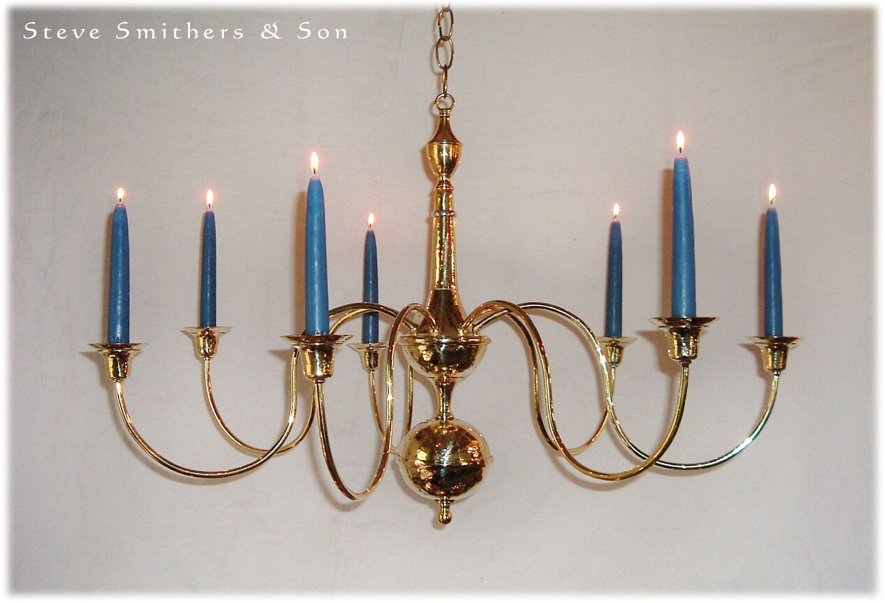Handmade Brass Sconces Chandeliers Lamps Lanterns With Candle Chandelier (Image 7 of 15)