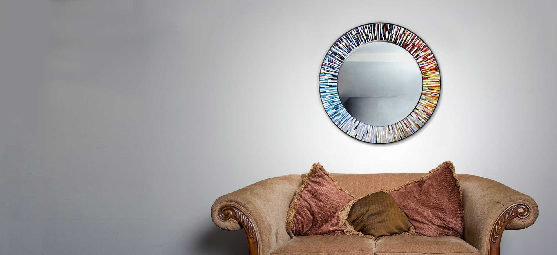 Handmade Mirrors Luxury Designer Unusual And Modern Piaggi With Unusual Mirrors For Sale (Image 6 of 15)