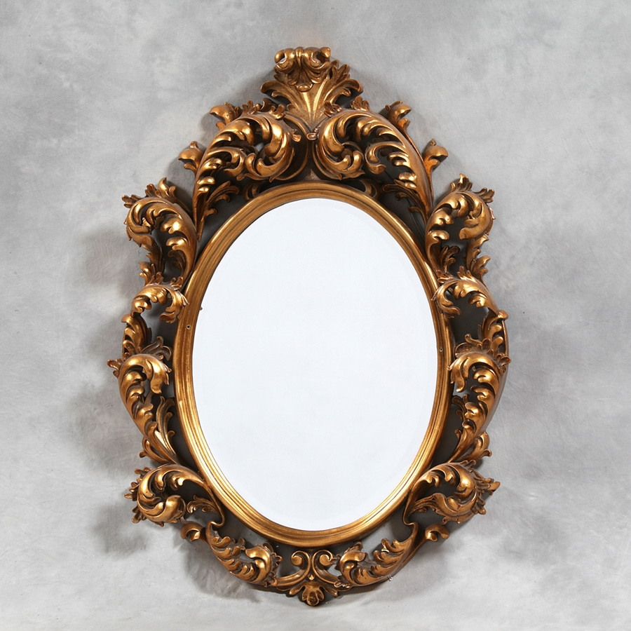 Handmade Ornate Mirrors For Teens The Furnitures Regarding Rococo Mirrors (Image 9 of 15)
