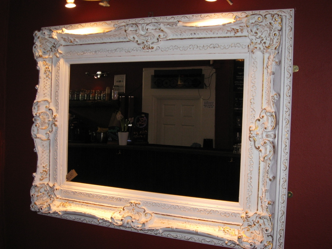 Handmade Ornate Mirrors For Teens The Furnitures Throughout Large Ornate White Mirror (Image 1 of 15)