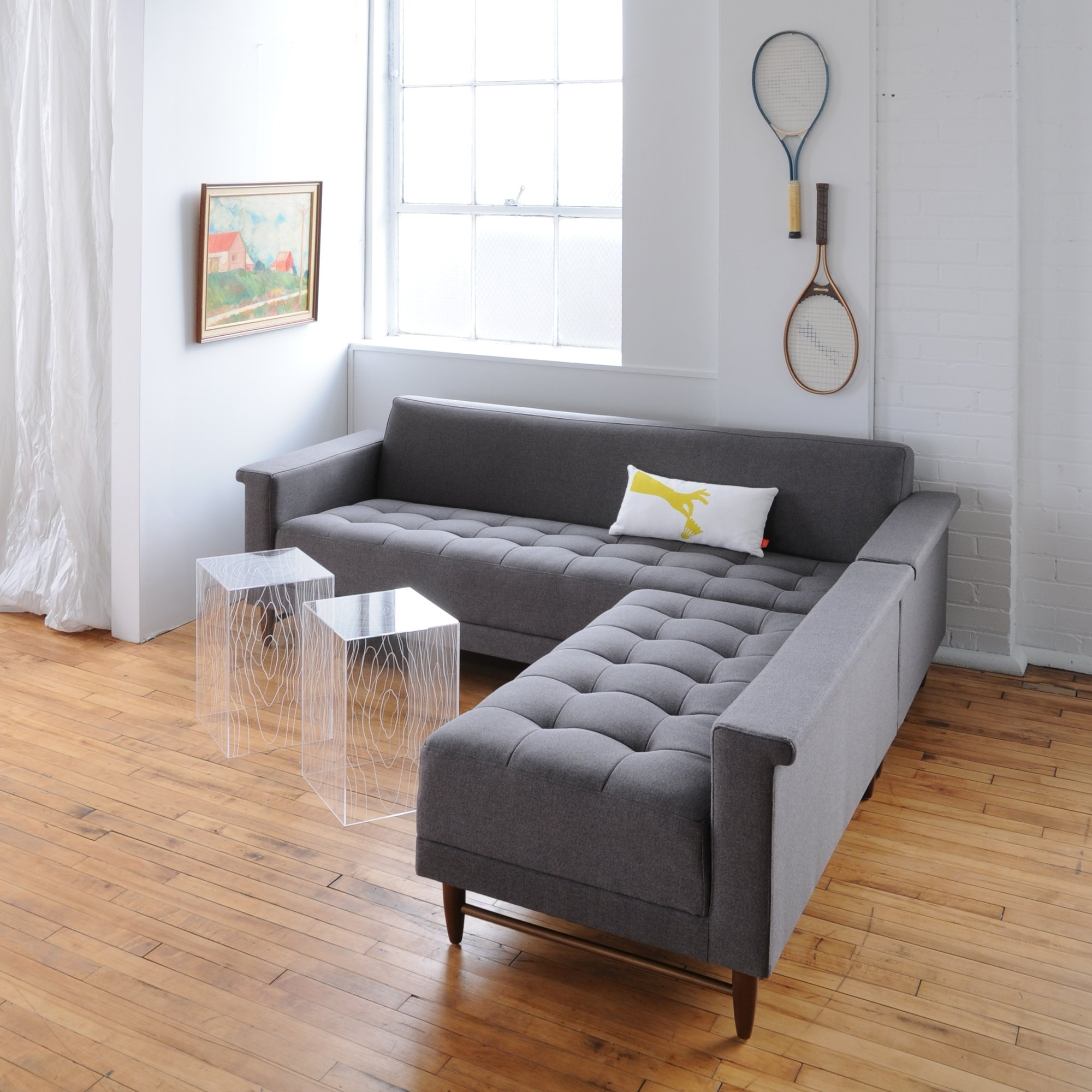 Harbord Loft Bi Sectional Reviews Allmodern With Bisectional Sofa (Image 10 of 15)