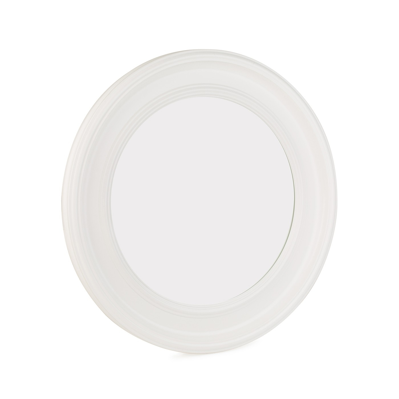 Heals Gloss White Round Mirror Inside White Round Mirror (Image 6 of 15)