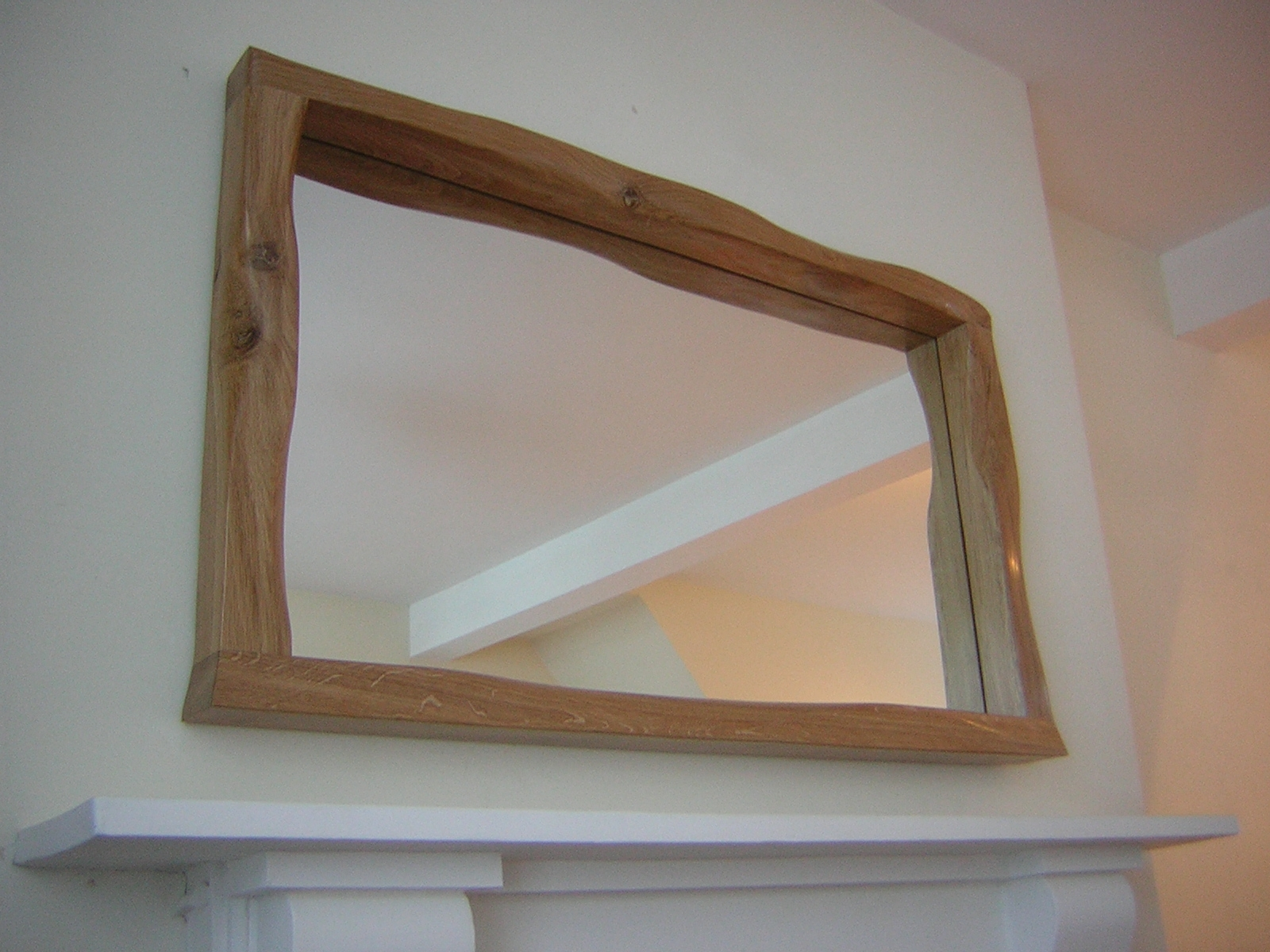 Helluvakinky Woodworks Kinky Mirrors Set One With Regard To Oak Mirrors (Image 5 of 15)
