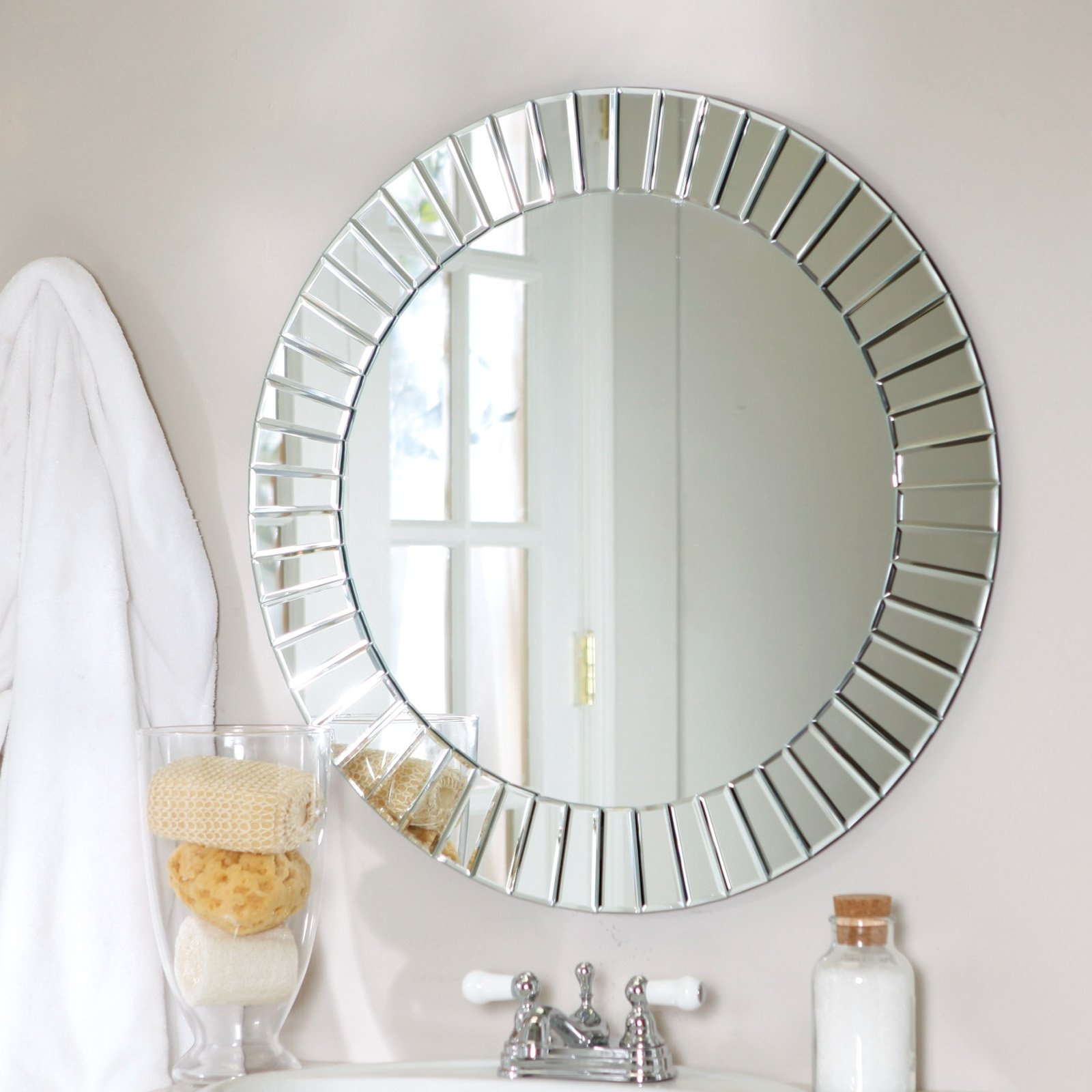 Help I Have Got Spots On My Mirror My Decorative With Regard To Mirror Circles For Walls (View 5 of 15)