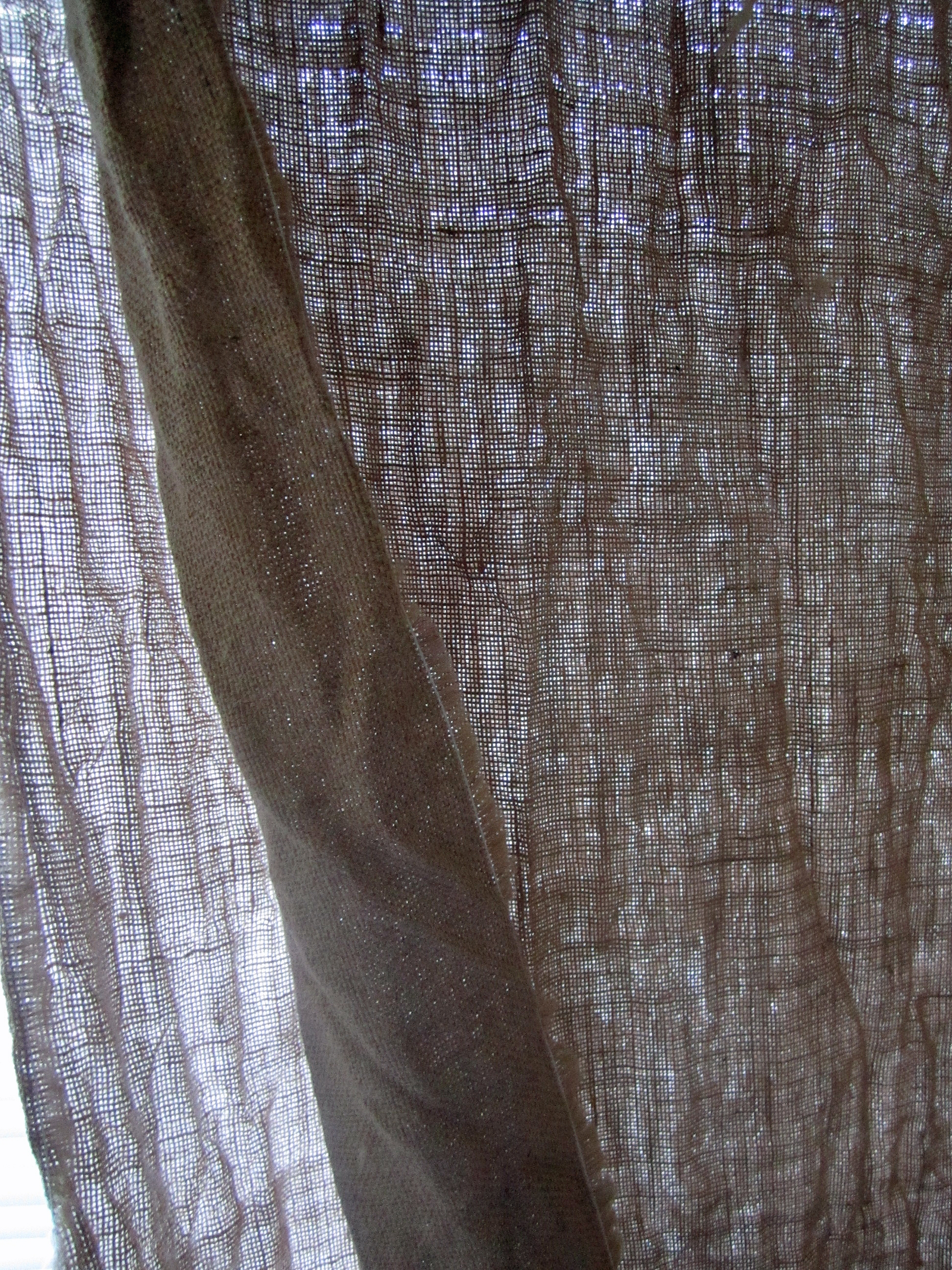 Hessian Curtains Designromp Within Hessian Curtains (Image 12 of 15)