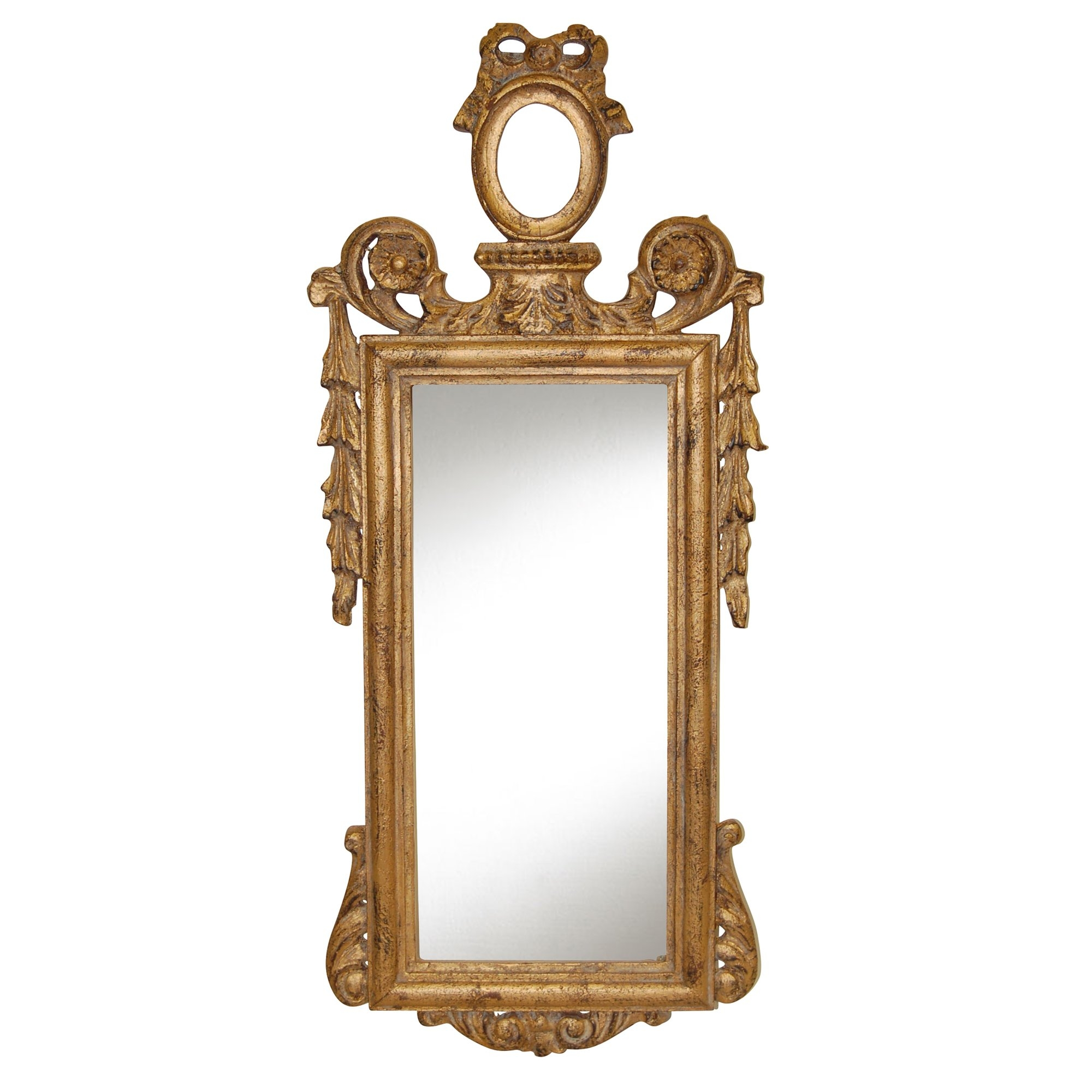 Hickory Manor House Ornate French Mirror Reviews Wayfair Within Mirror Ornate (Image 4 of 15)