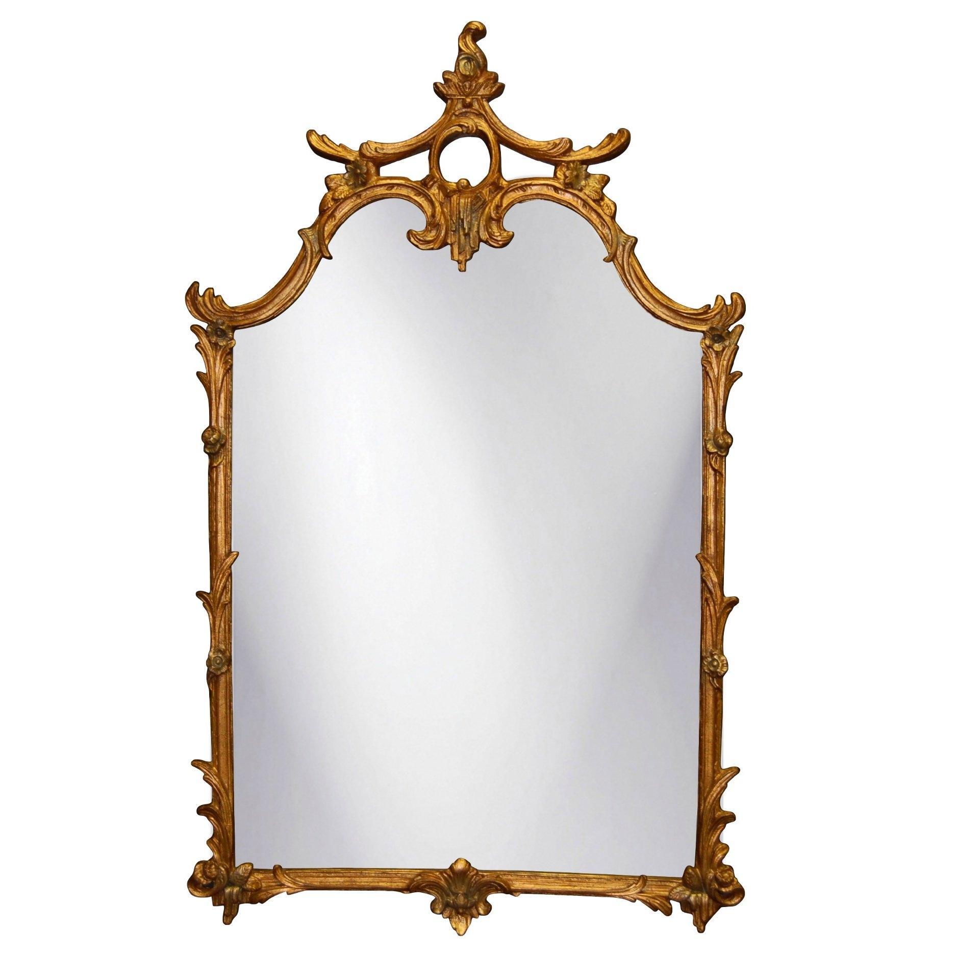 Hickory Manor House Ornate Wall Mirror Reviews Wayfair Within Ornate Wall Mirror (Image 4 of 15)