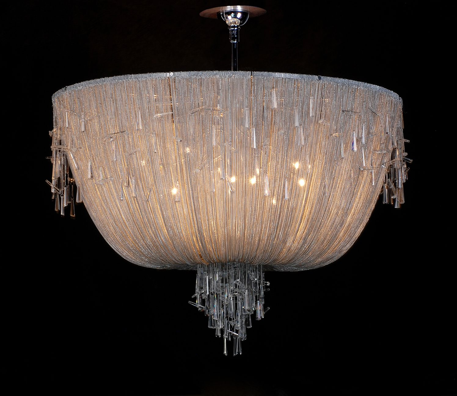 Home Bespoke Italian Chandeliers Hand Blown Glass Lighting Within Italian Chandelier Style (Image 8 of 15)