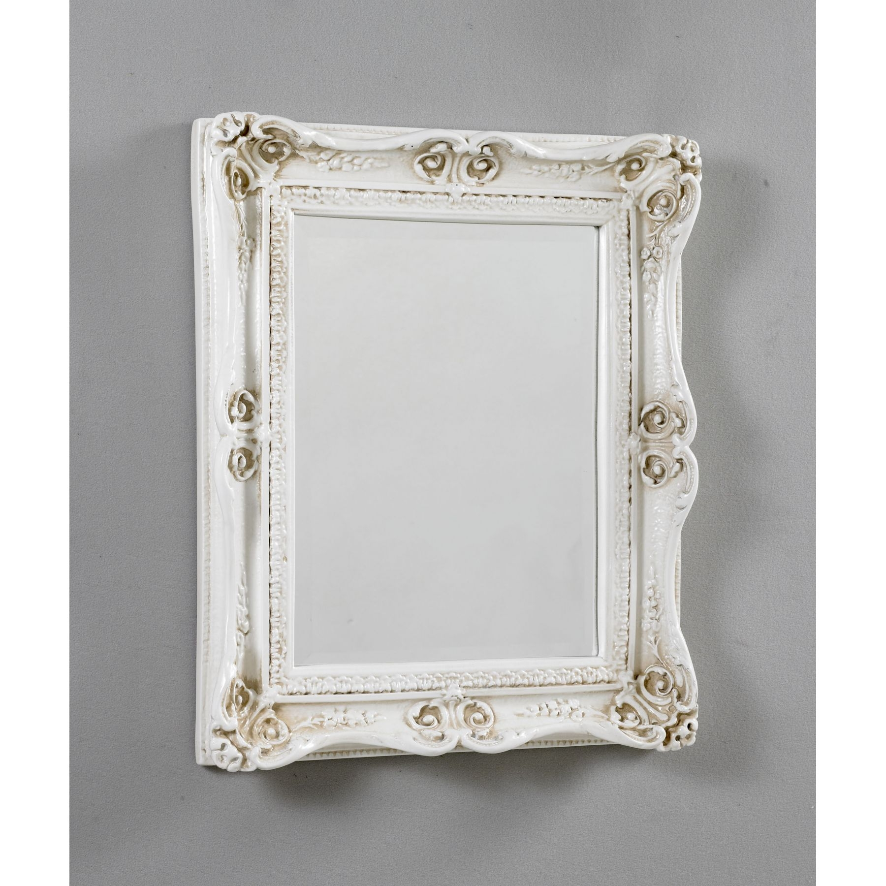 Home Decor Antique French Ivory Mirror 9 With Regard To Vintage French Mirrors (View 3 of 15)