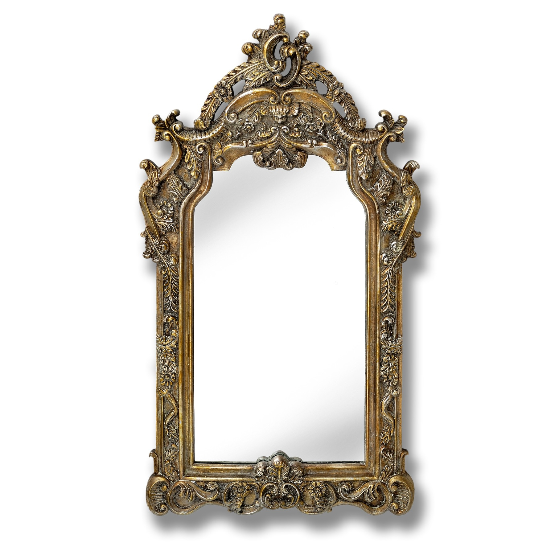 Home Decor Finding Indispensable Criteria For Antique Mirrors With Regard To Elaborate Mirrors (Image 13 of 15)