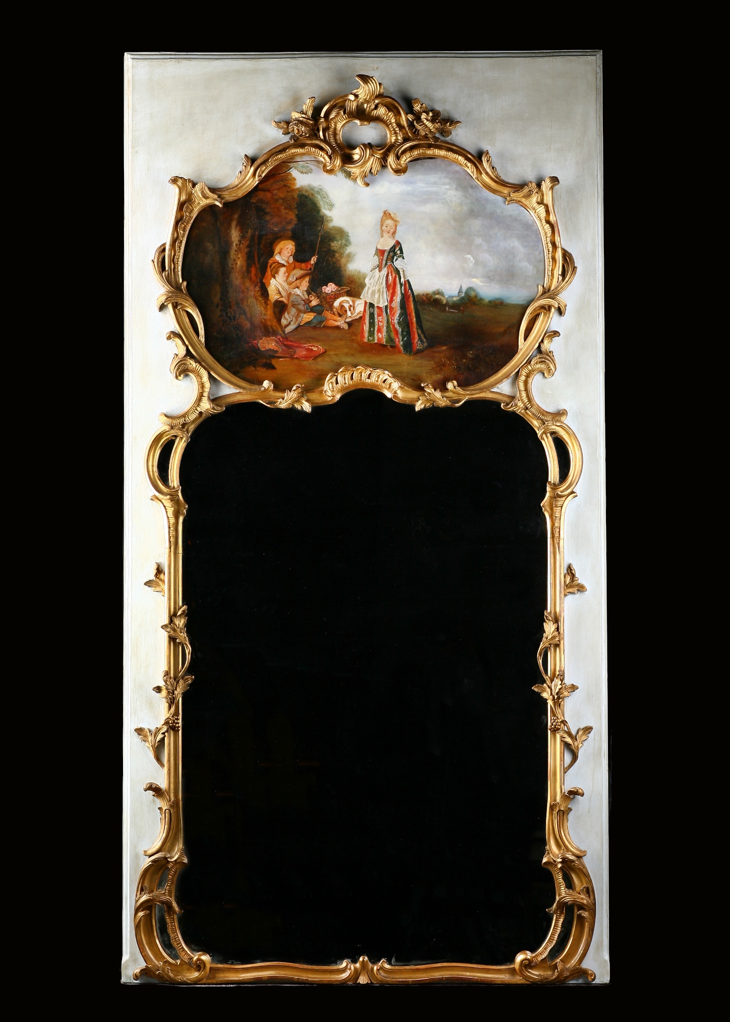 Home Decor Verena Old World Wall Mirror For Old French Mirrors (Image 10 of 15)