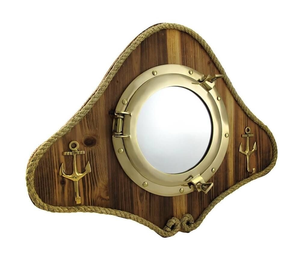 Home Decoration Best Rustic Porthole Mirror Decorative Porthole Throughout Porthole Style Mirrors (Image 7 of 15)