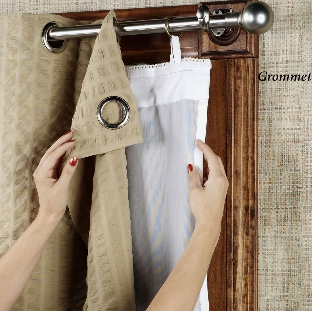 Home Decoration Cheap Blackout Curtain Liner For Tall Window With Noise And Light Blocking Curtains (Image 9 of 15)