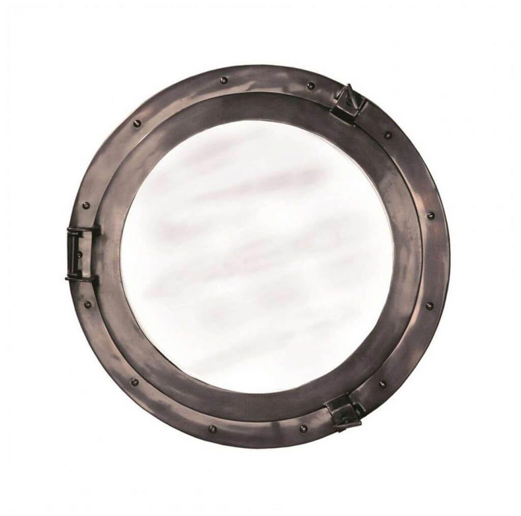 Home Decoration Cool Chrome Porthole Mirror Ideas Decorative For Chrome Porthole Mirror (Image 8 of 15)