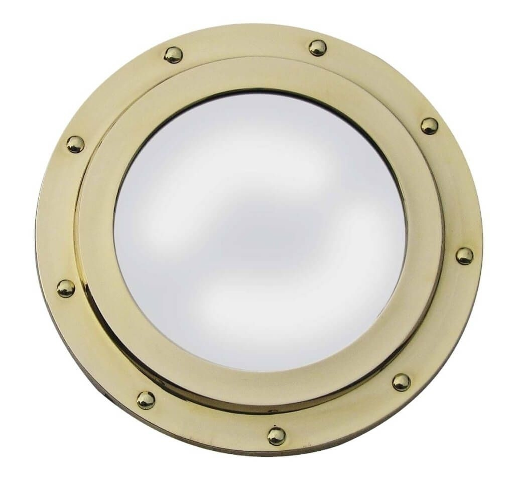 Home Decoration Cool Chrome Porthole Mirror Ideas Decorative Regarding Chrome Porthole Mirror (Image 9 of 15)