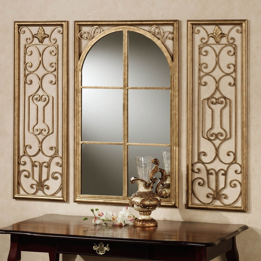 Home Decoration Elegant Gold Sunburst Mirror Wall Decor With Intended For Expensive Mirrors (Image 12 of 15)