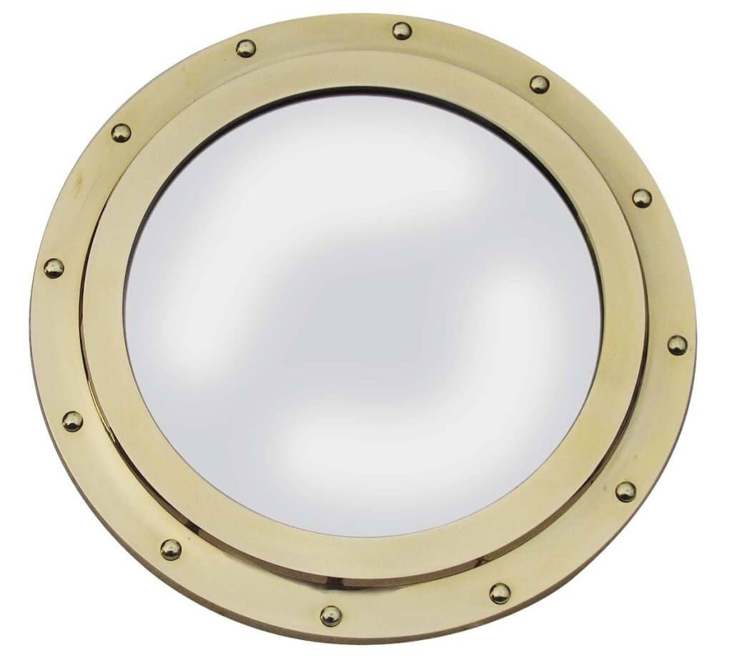 Home Decoration Inspiring Aluminum Porthole Mirror Design Intended For Chrome Porthole Mirror (Image 10 of 15)