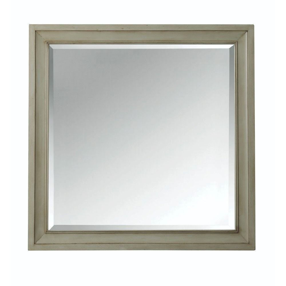 Home Decorators Collection Hazelton 30 In W X 30 In H Single Inside Square Wall Mirror (Image 9 of 15)