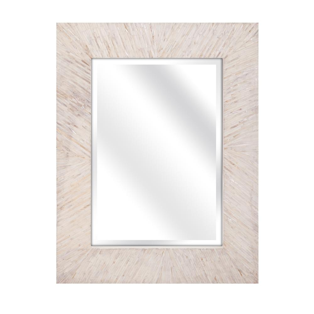 Home Decorators Collection Ophelia Mother Of Pearl Wall Mirror For Mother Of Pearl Wall Mirror (View 2 of 15)