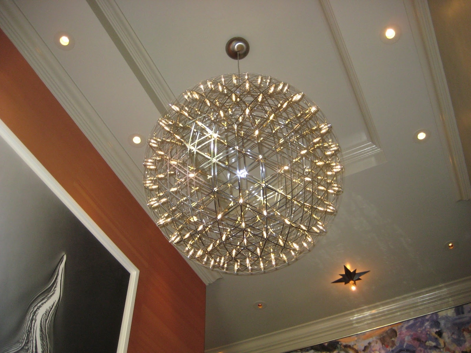 Home Design Modern Chandeliers For Staircase Rustic Medium In Large Chandeliers Modern (View 11 of 15)