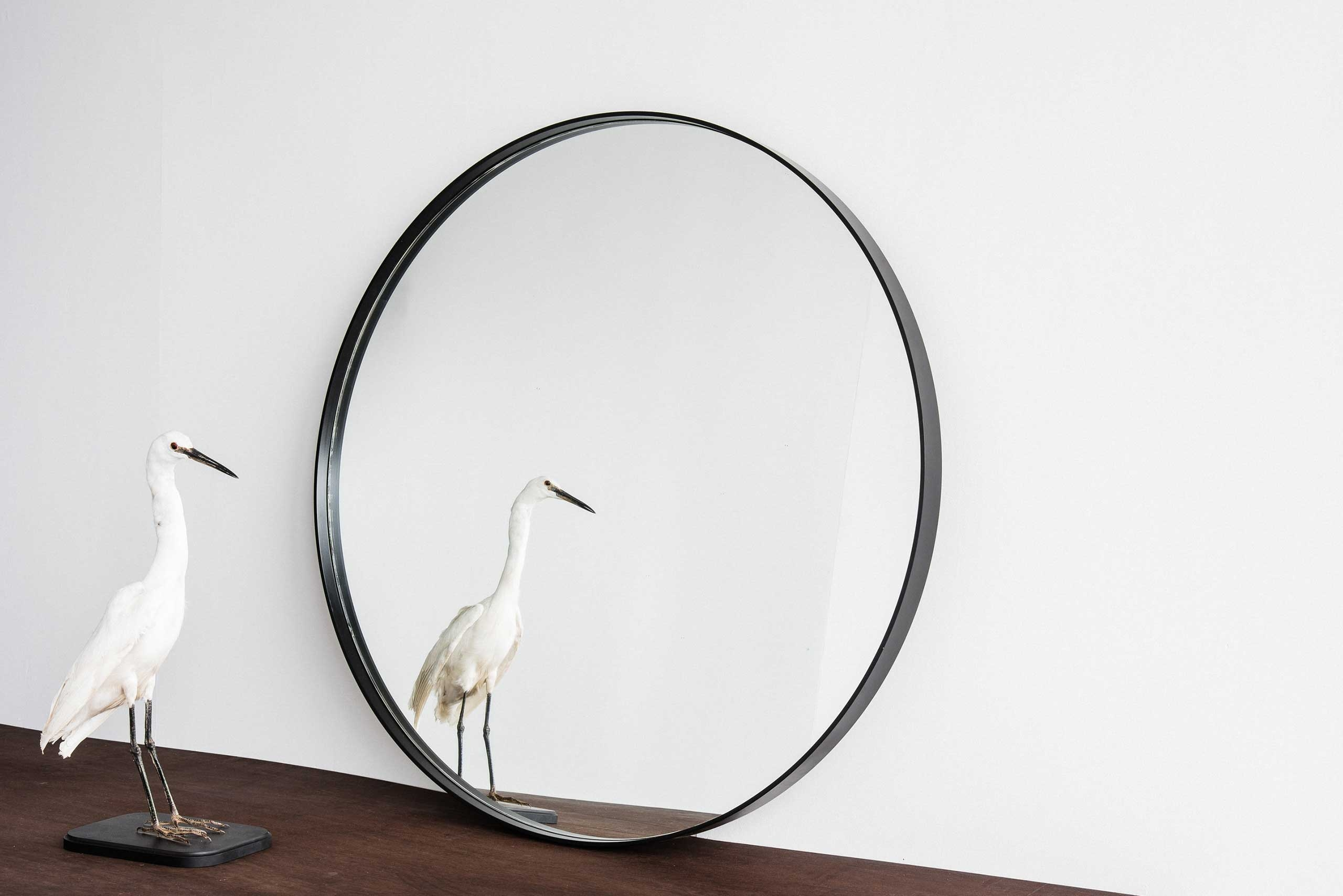 Home Industry Furniture Designed Handcrafted In New Zealand 2016 Throughout Black Circle Mirrors (Image 6 of 15)