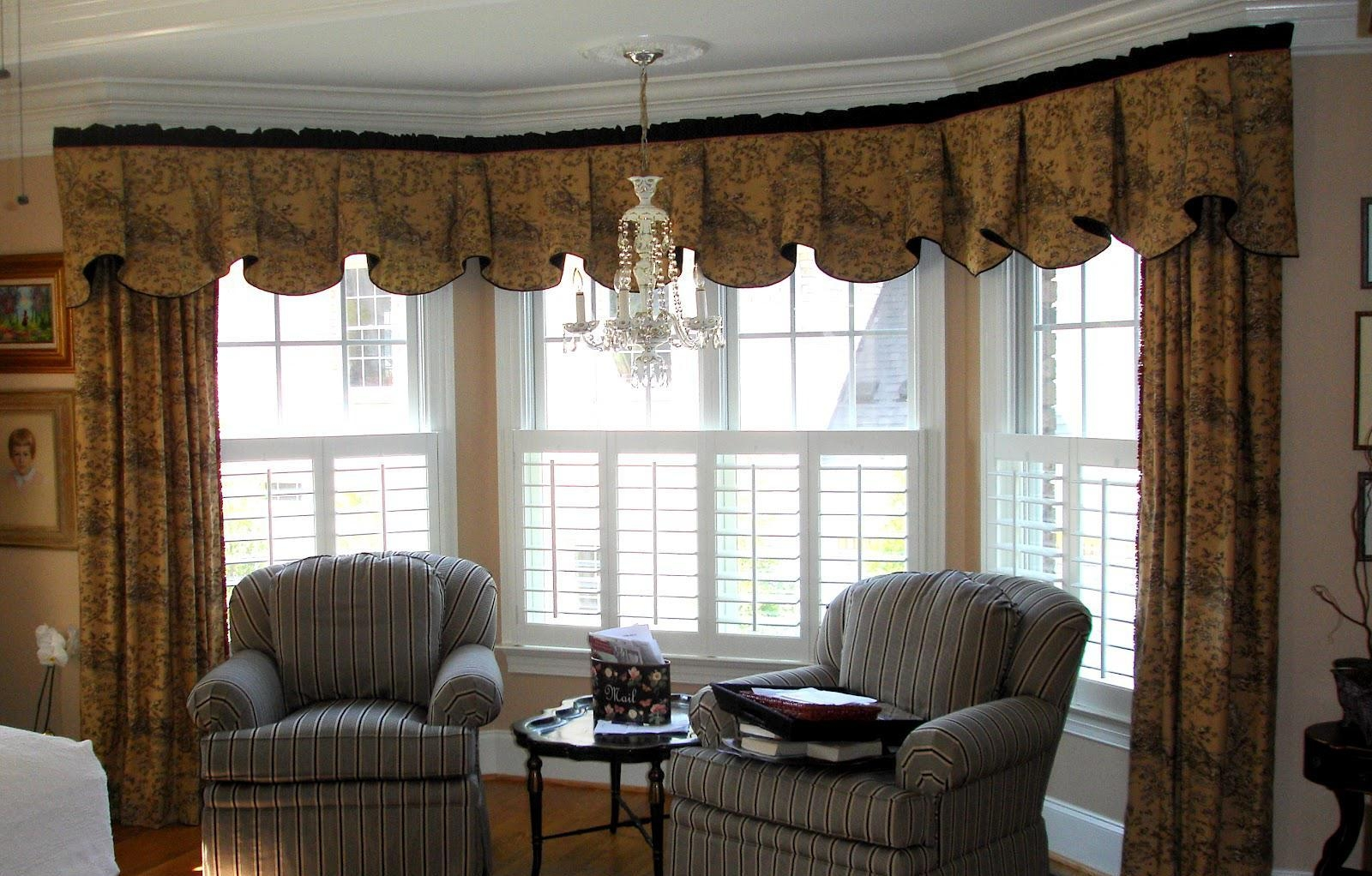 Home Interior Category True Way To Decorating Bay Windows Ideas Within Curtains For Round Bay Windows (Image 9 of 15)