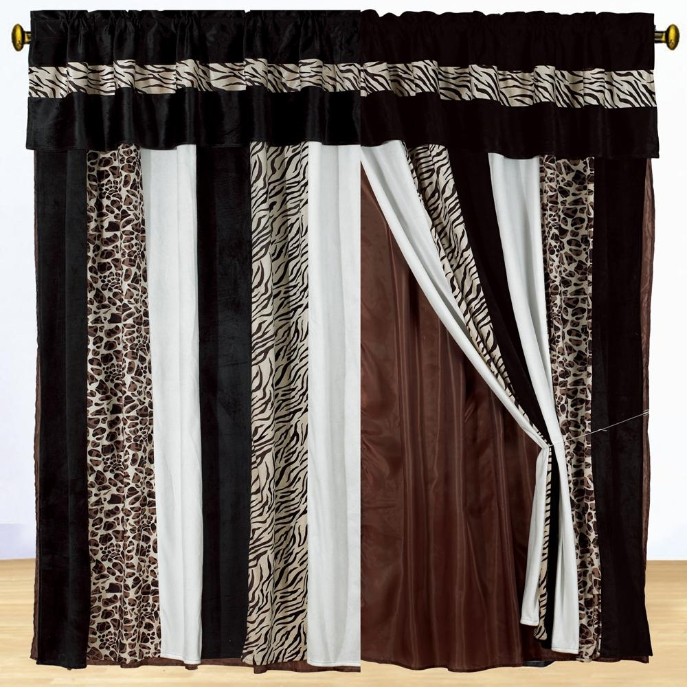 15 Latest Curtains Designs Home Design Ideas: 15+ Black And Brown Curtains
