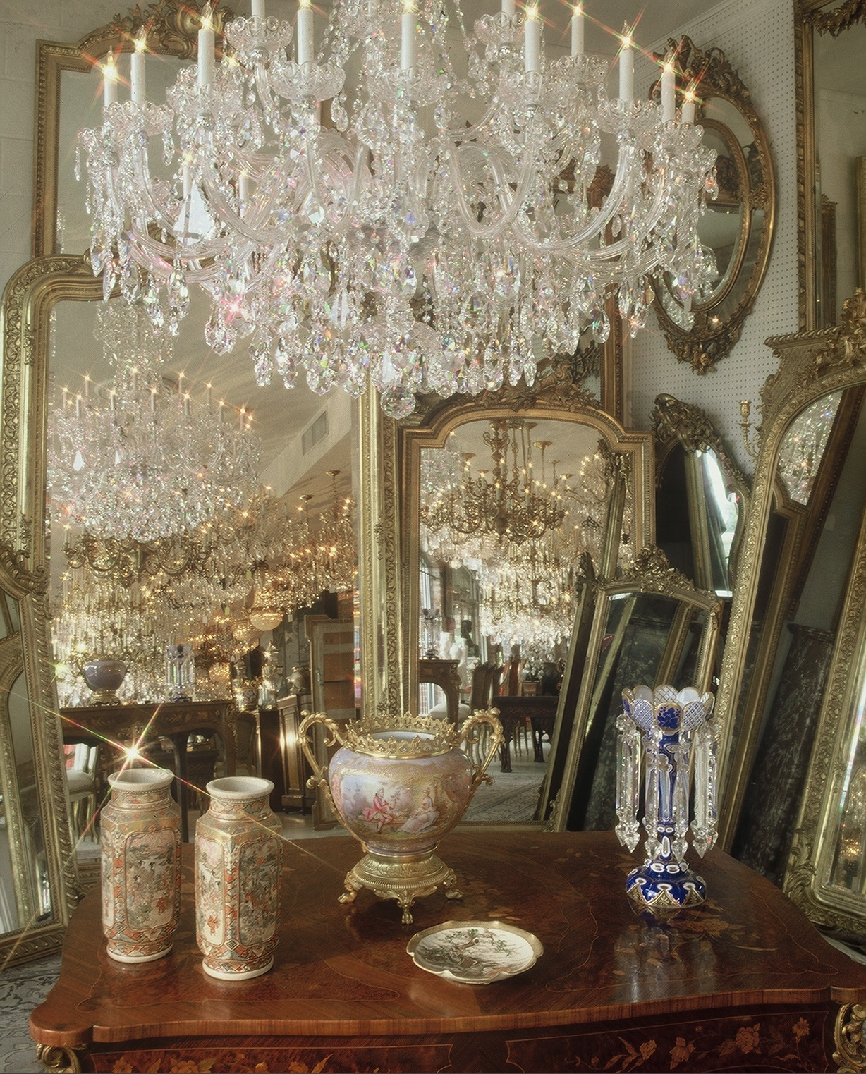 House Of Glass Home Throughout Vintage Chandeliers (Image 7 of 15)