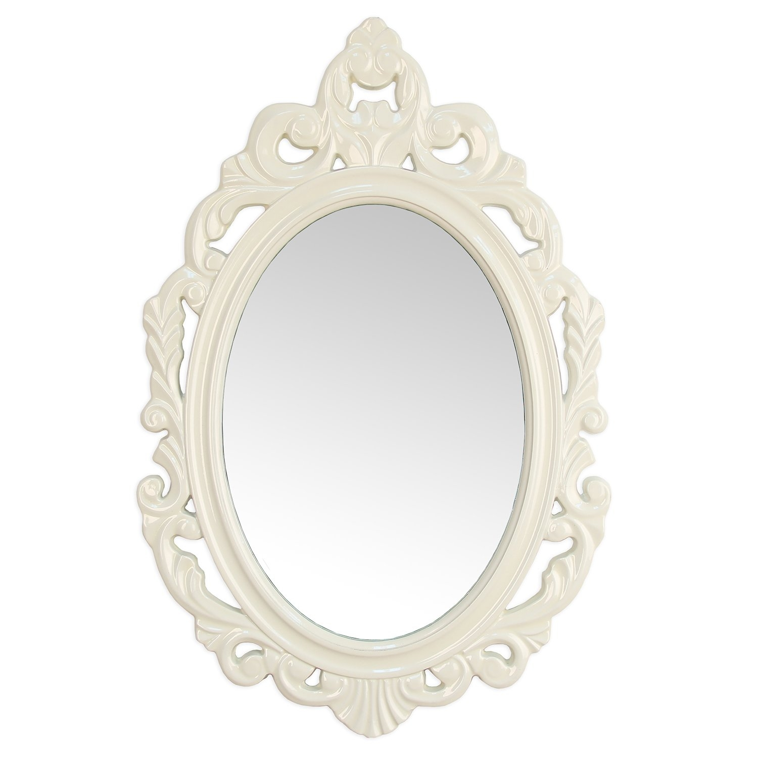 House Of Hampton Accent Baroque Oval Wall Mirror Reviews Wayfair Within Modern Baroque Mirror (Image 9 of 15)