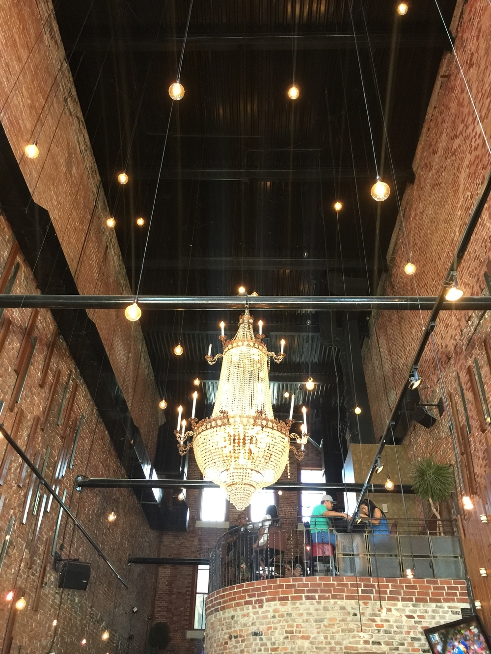 Houstons Hearsay Gastro Lounge Attracts Repeat Customers With Intended For Restaurant Chandelier (Image 8 of 15)