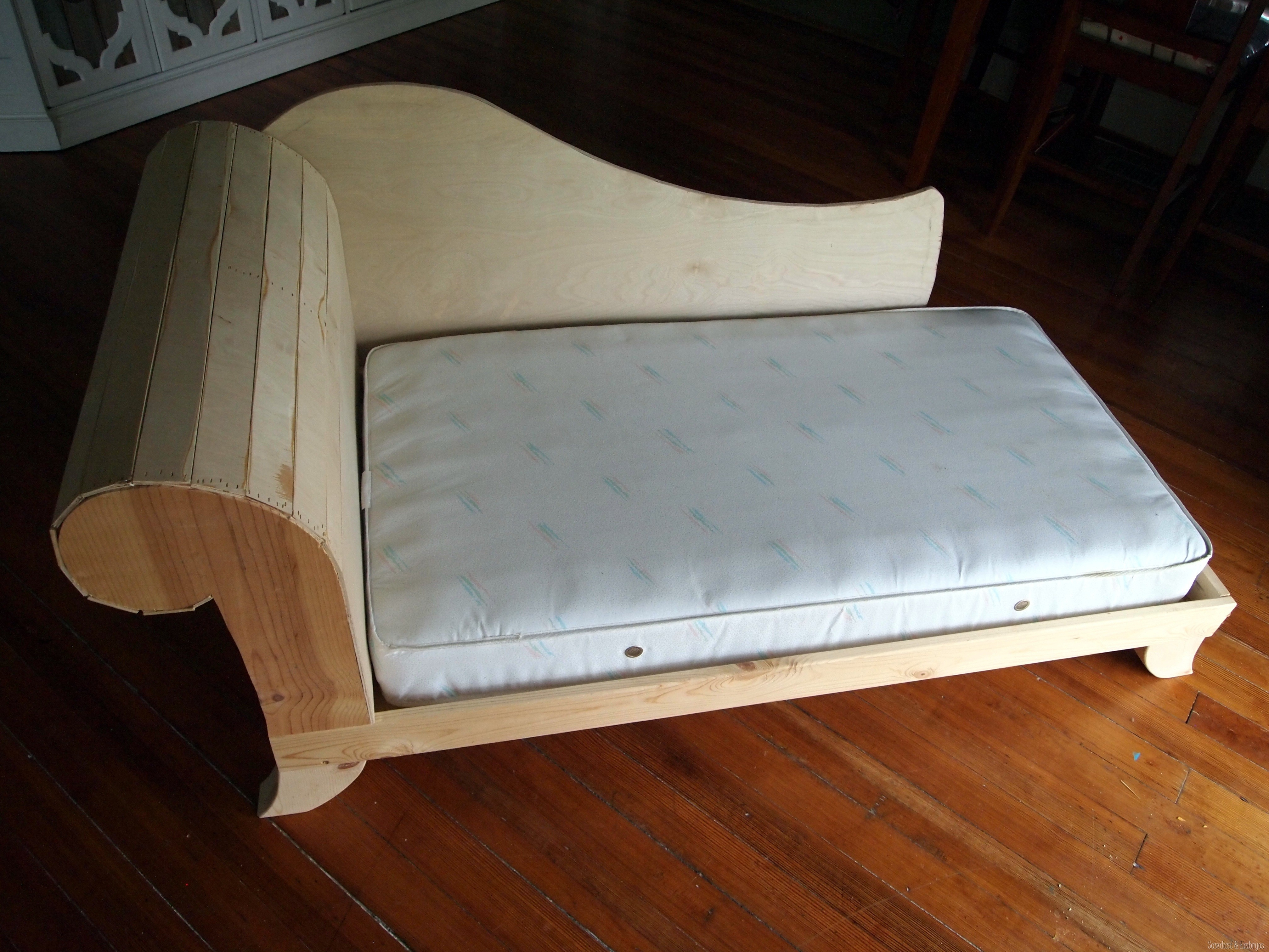 How To Build A Sofa Frame In Diy Sofa Frame (Image 12 of 15)