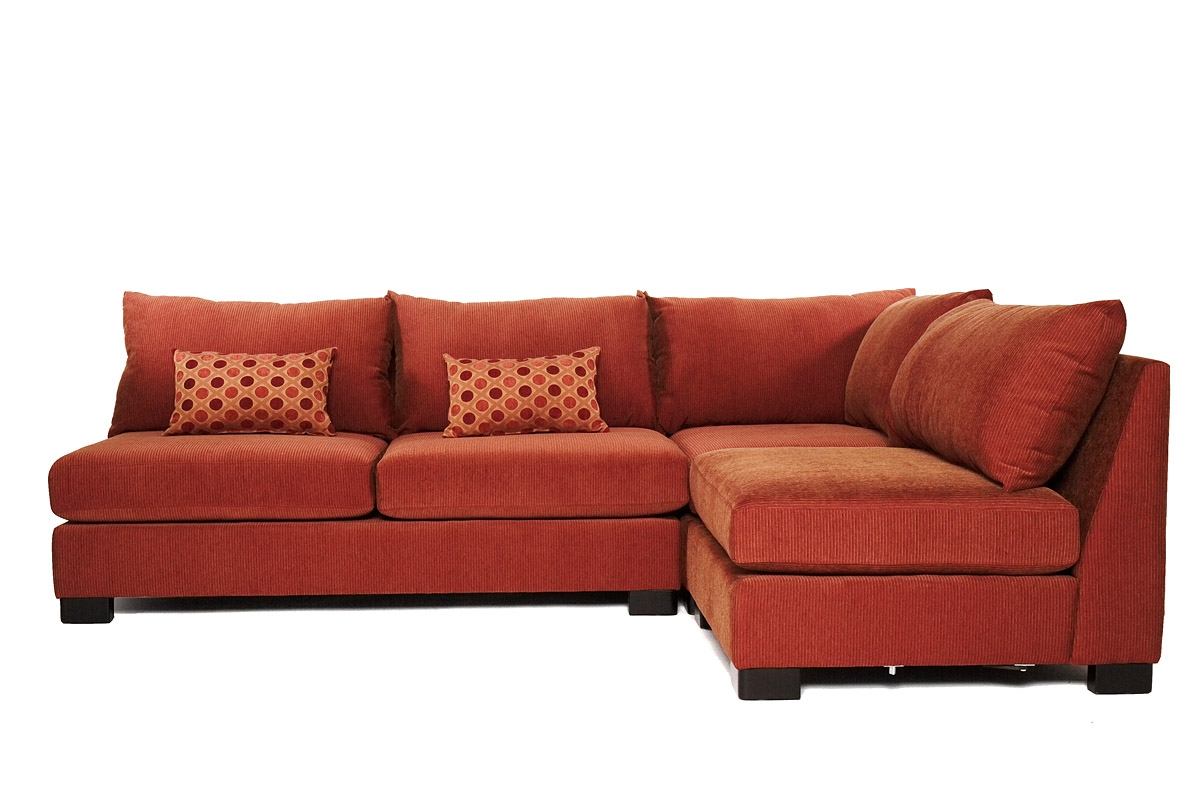 How To Decorate Sectional Couch Modern Home Interiors With Armless Sectional Sofas (Image 13 of 15)