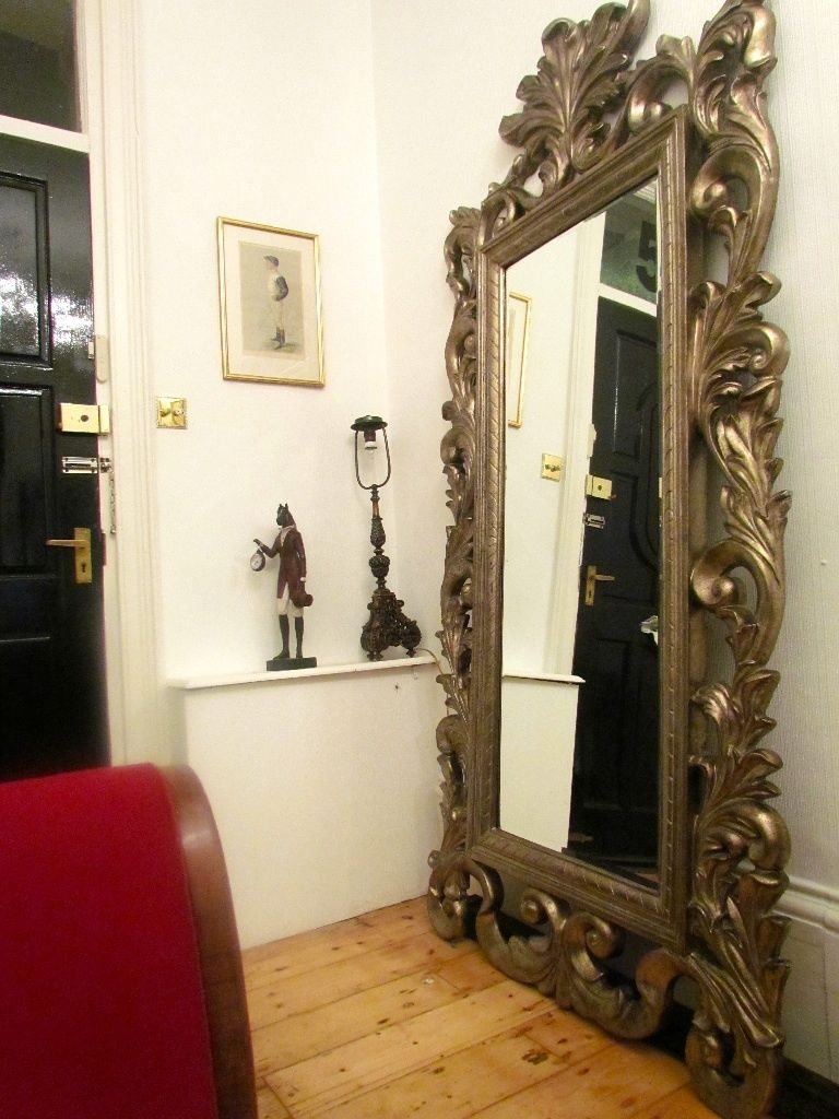 Featured Image of Rococo Floor Mirror