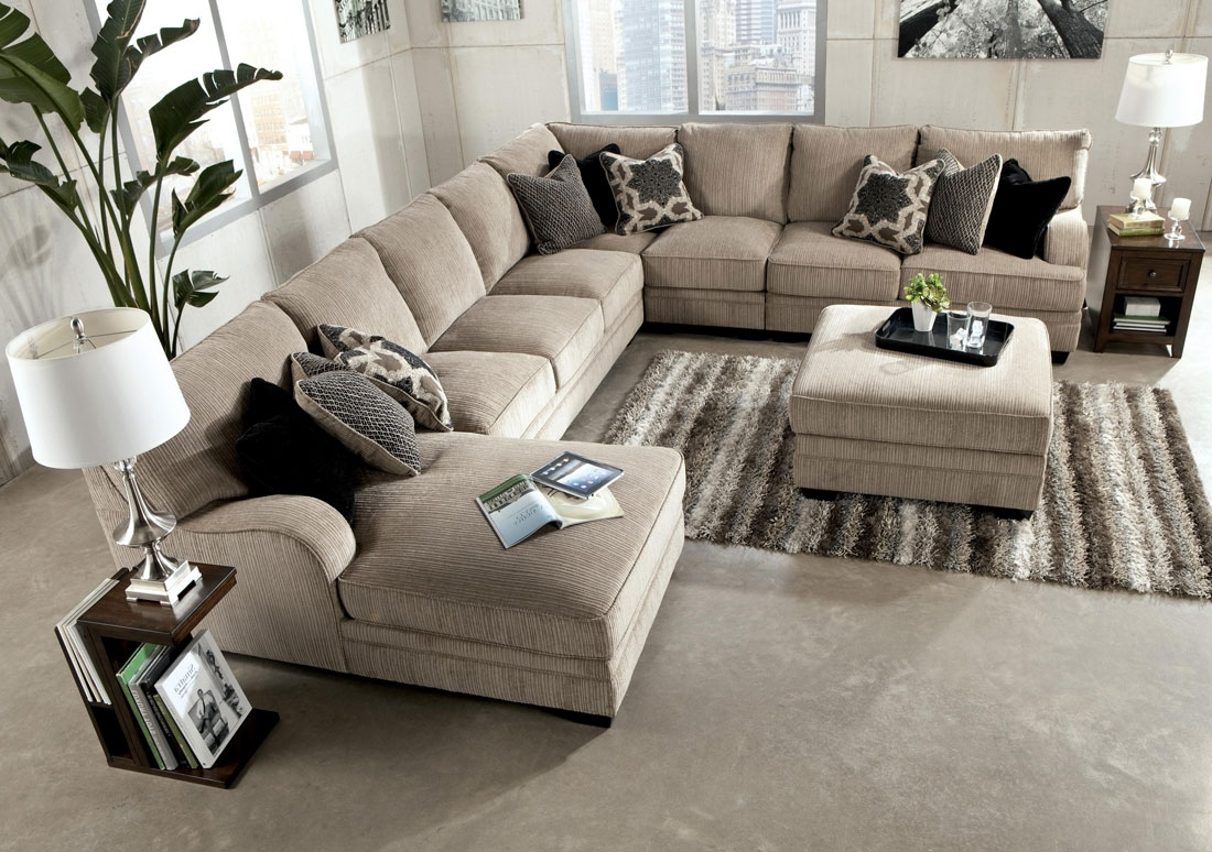 Huge Sectional Sofas Best Home Furniture Ideas In 7 Seat Sectional Sofa (Image 10 of 15)