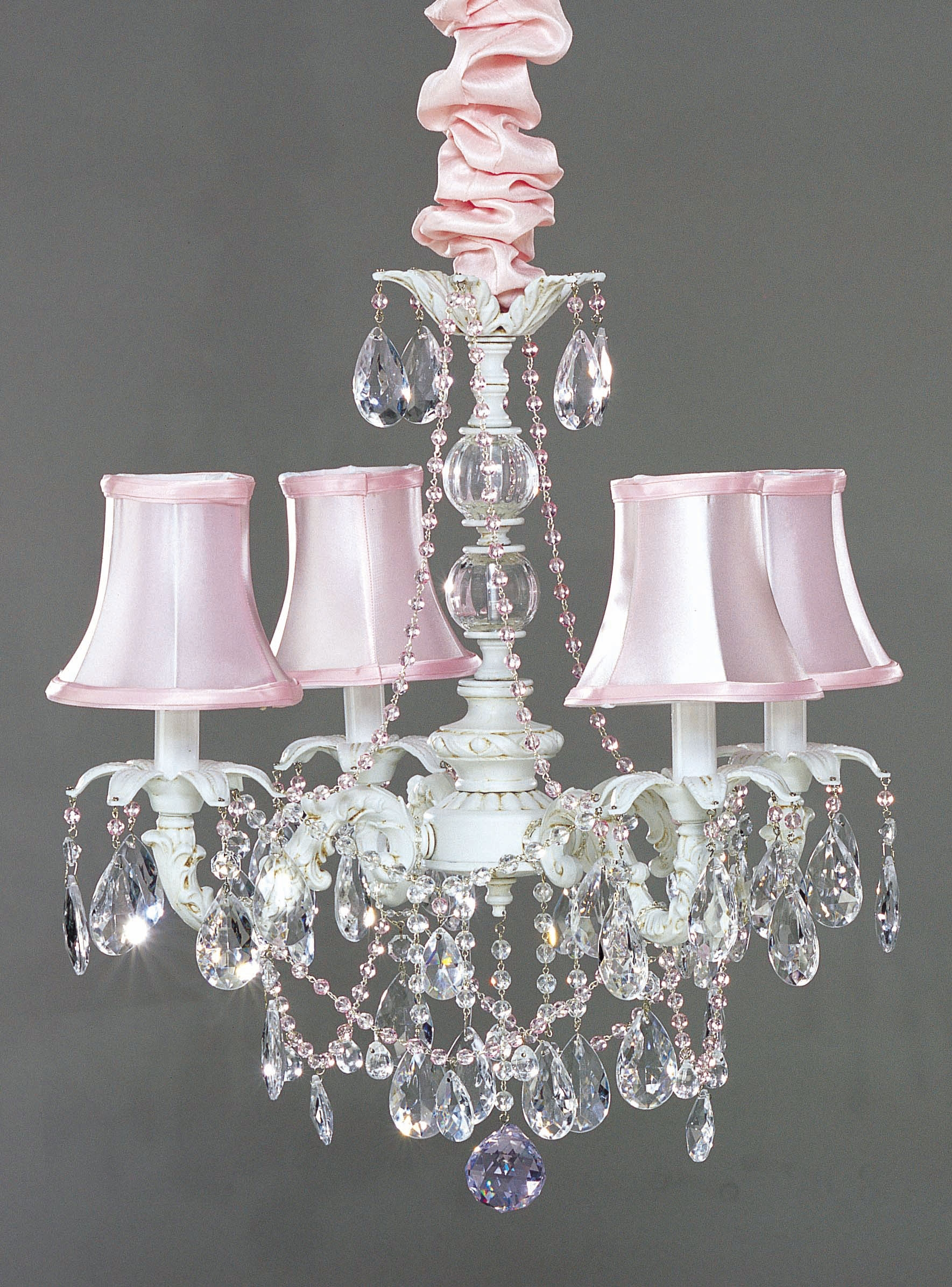 I Lite 4 U Shab Chic Style Mini Chandeliers Lighting Intended For Shabby Chic Chandeliers (View 7 of 15)