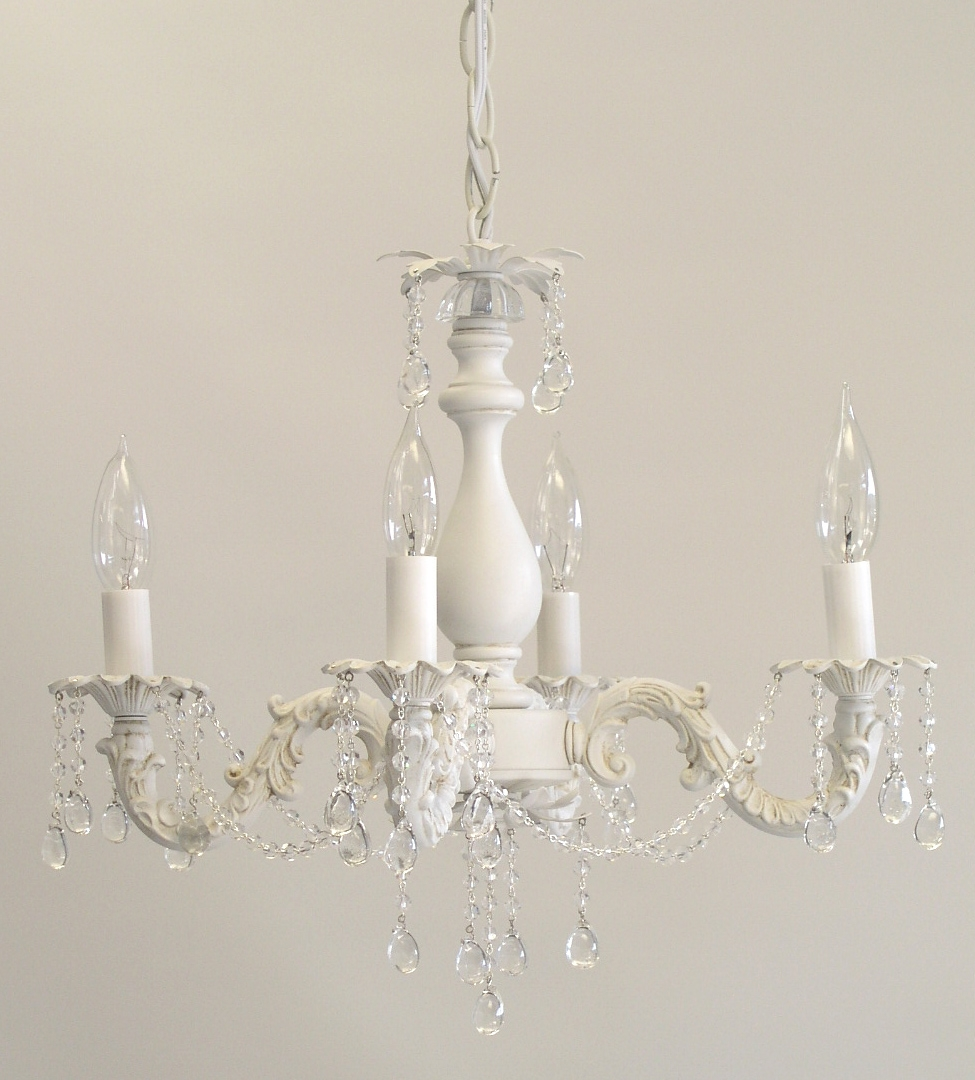 I Lite 4 U Shab Chic Style Mini Chandeliers Lighting With Regard To Shabby Chic Chandeliers (View 9 of 15)