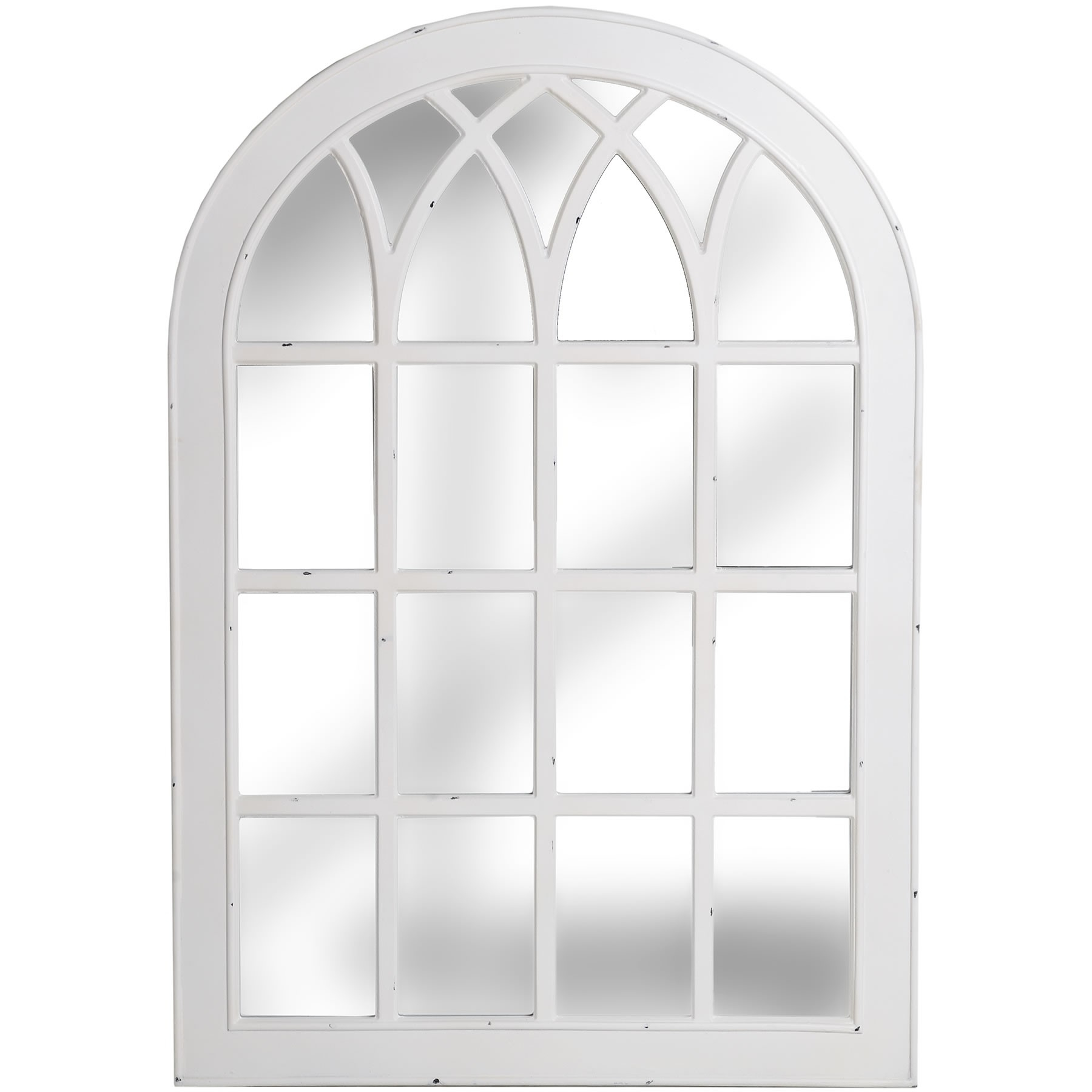 15 Inspirations White Arched Window Mirror Mirror Ideas