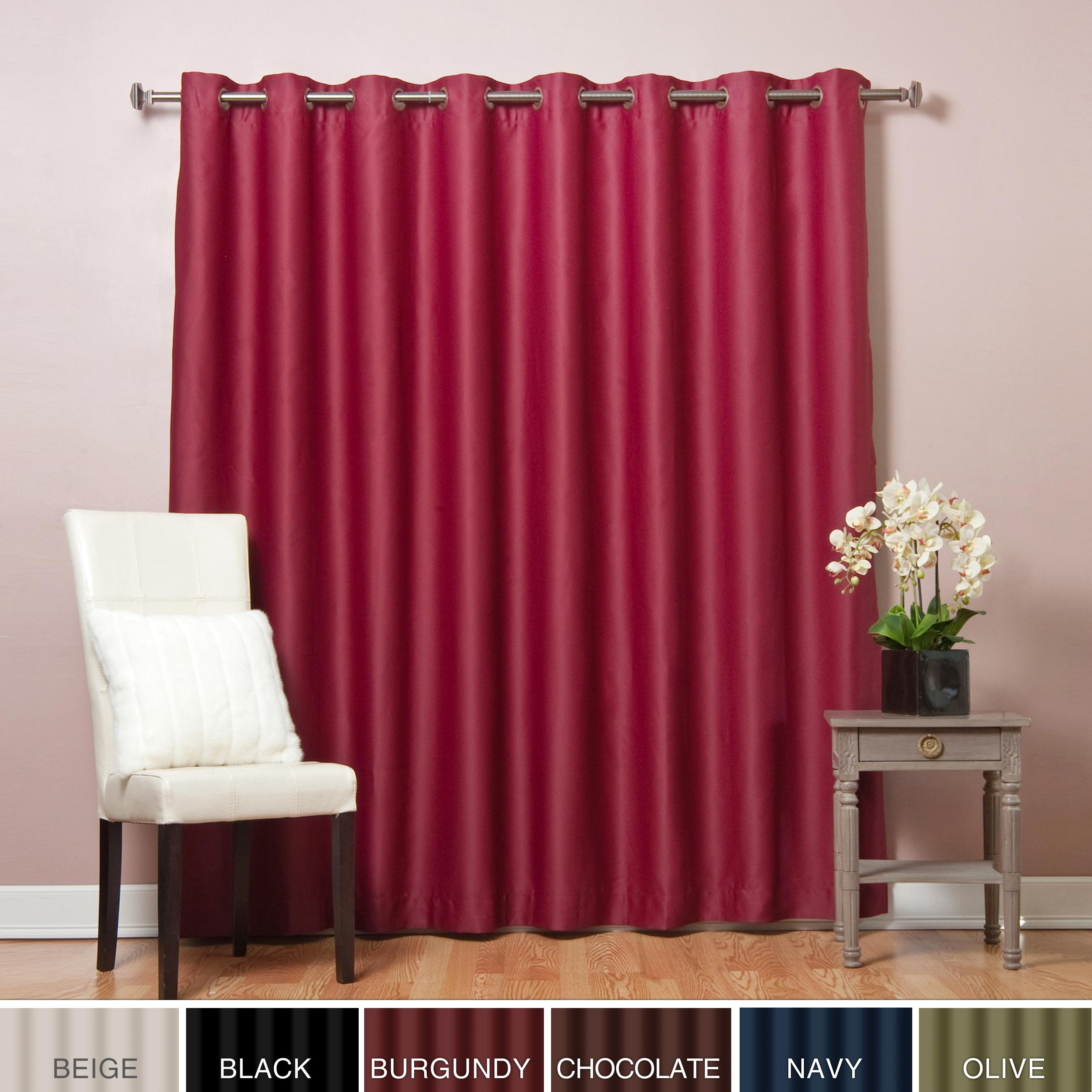 Ideas For Extra Wide Drapes Design 17745 Intended For Extra Wide Thermal Curtains (Image 12 of 15)