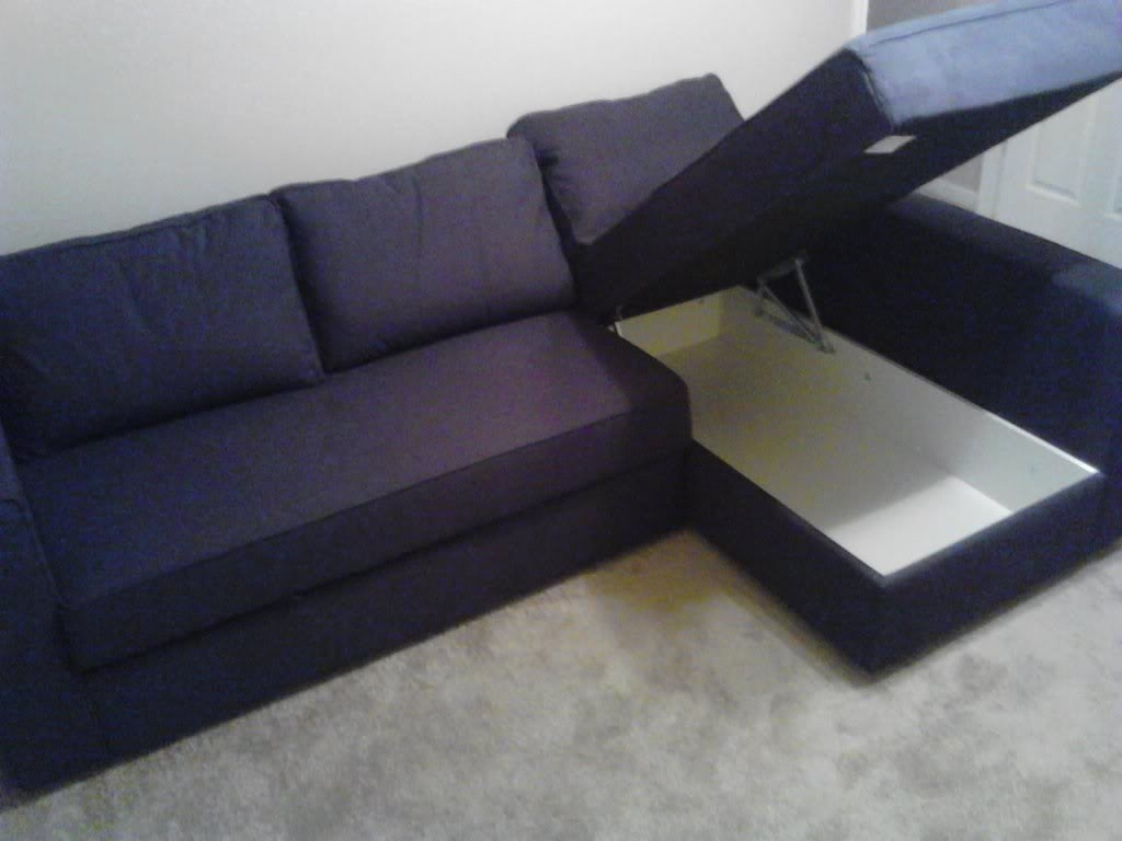Ikea Sofa Bed Solsta From Review Hacks With Storage Beds Mattress Intended For Corner Sofa Bed With Storage Ikea (Image 12 of 15)