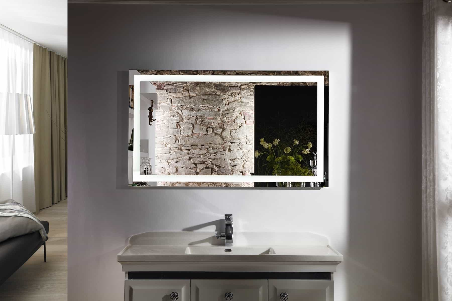Illuminated Magnifying Bathroom Mirrors (View 7 of 8)